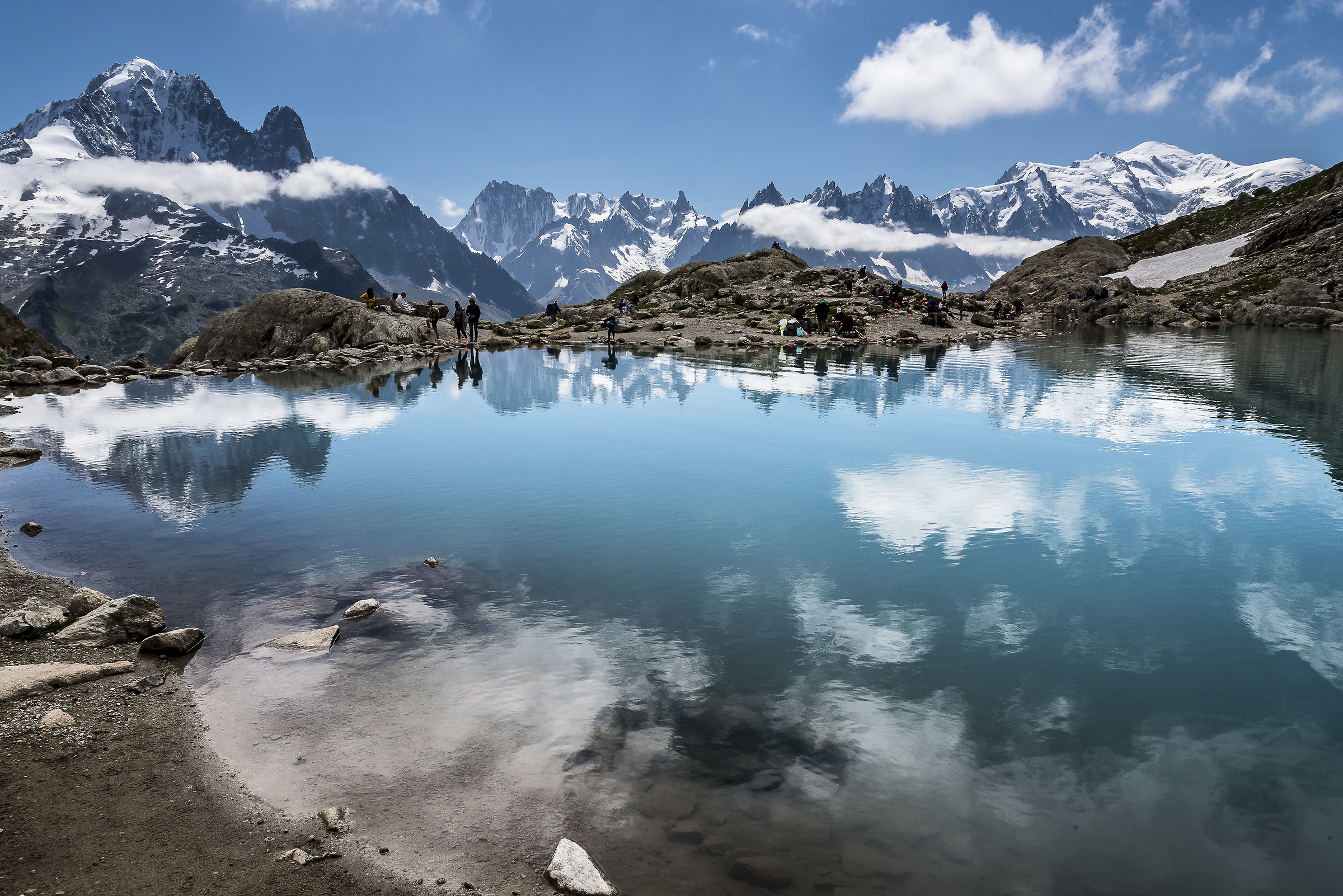Le Lac Blanc...