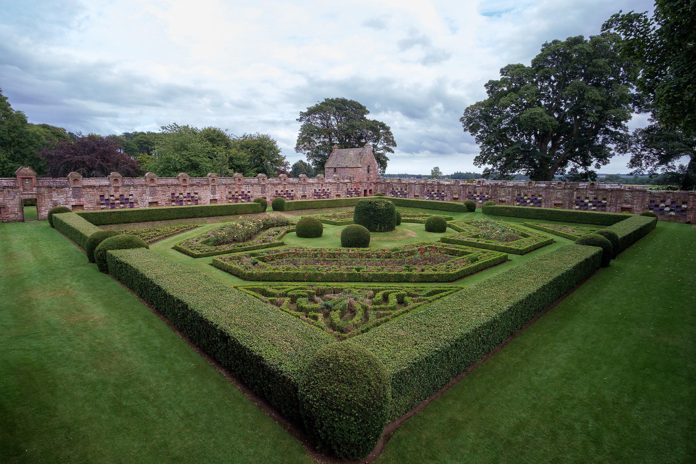The Secret Garden, Edzell Castle...