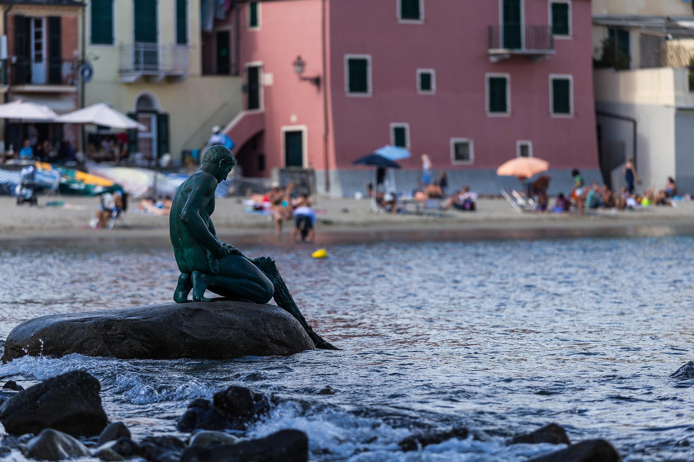 The fisherman Sestri Levante...