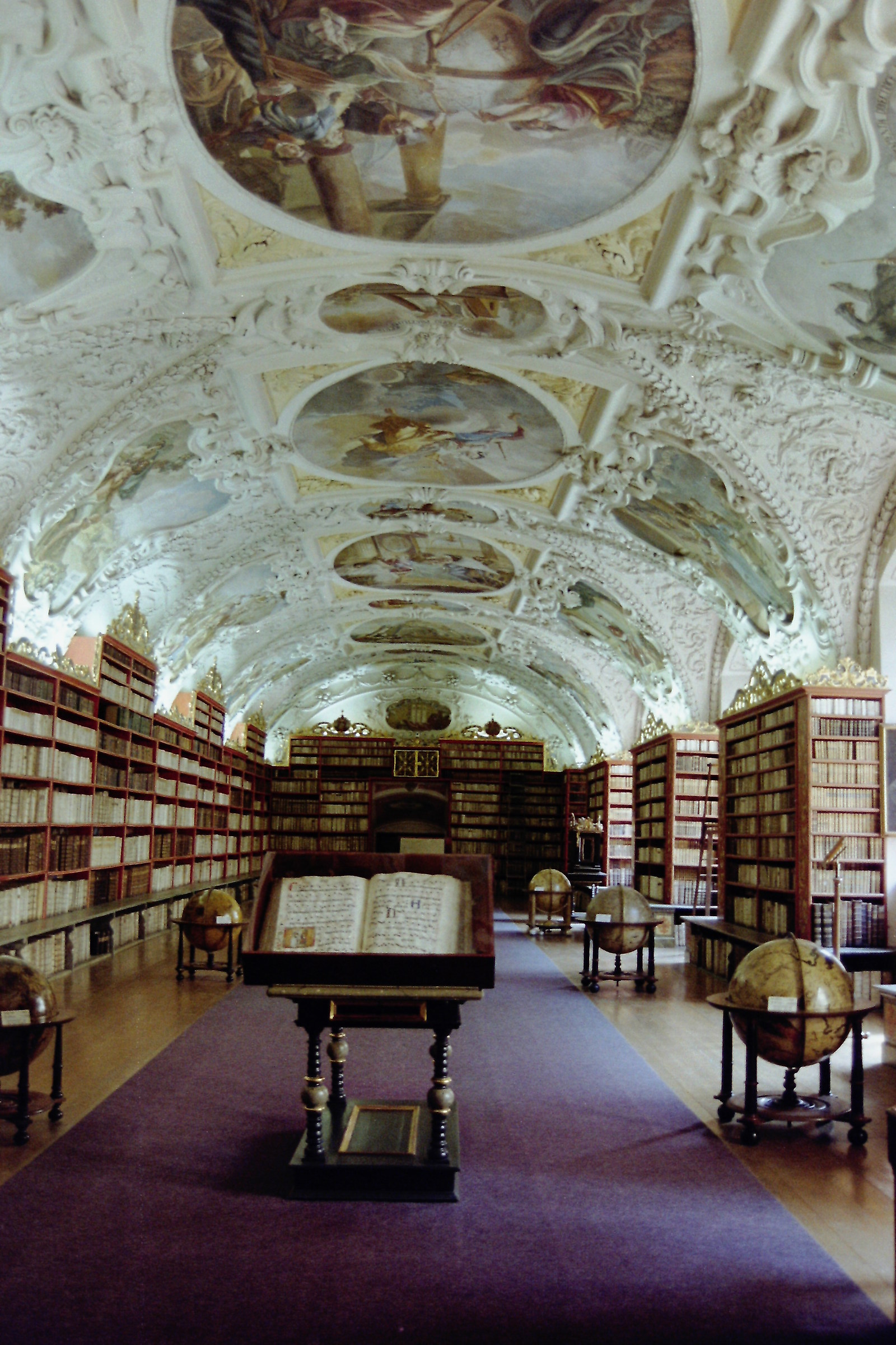 Library in the suburbs of Prague....