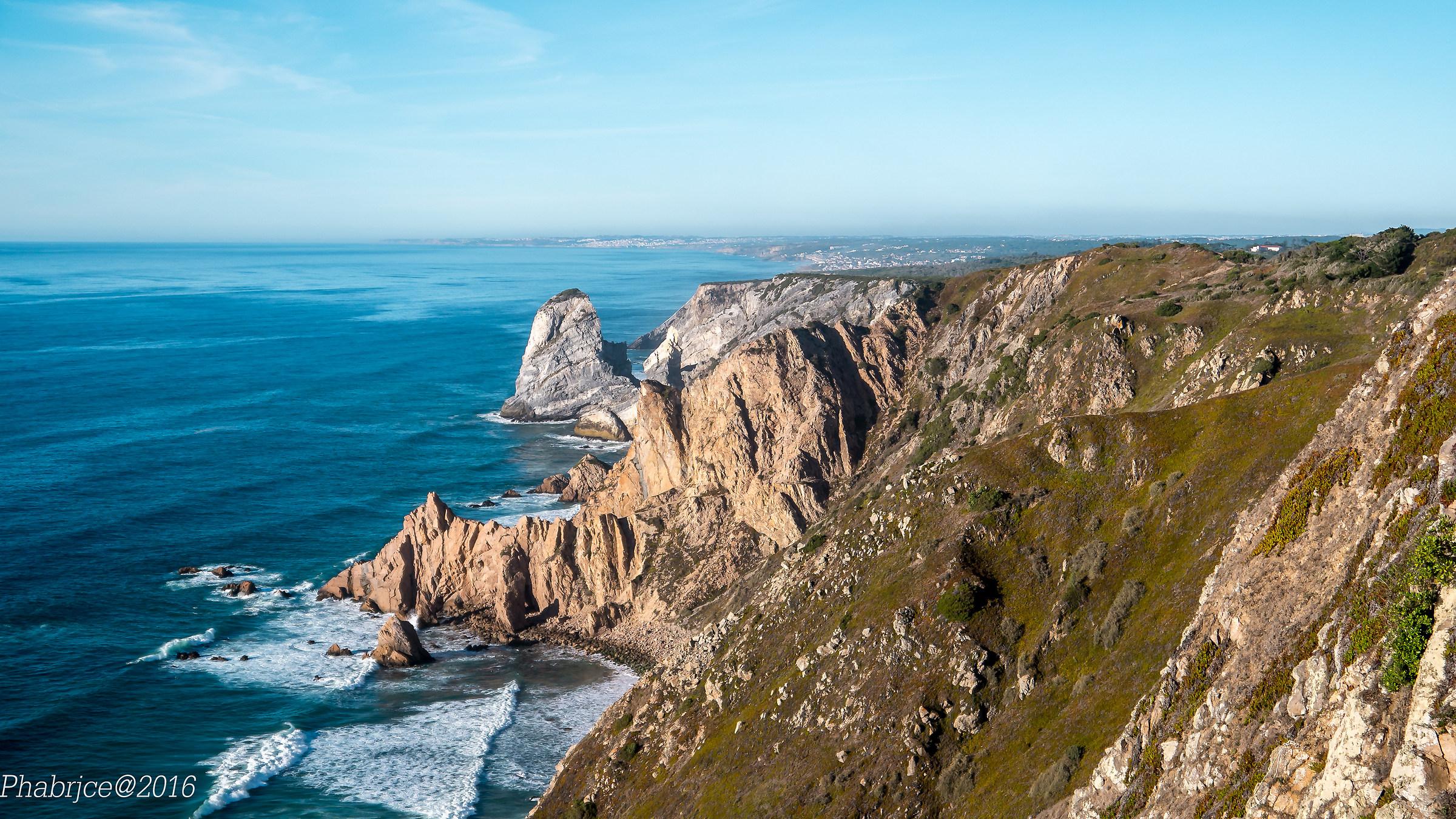 The cliffs of Cabo da Roca...