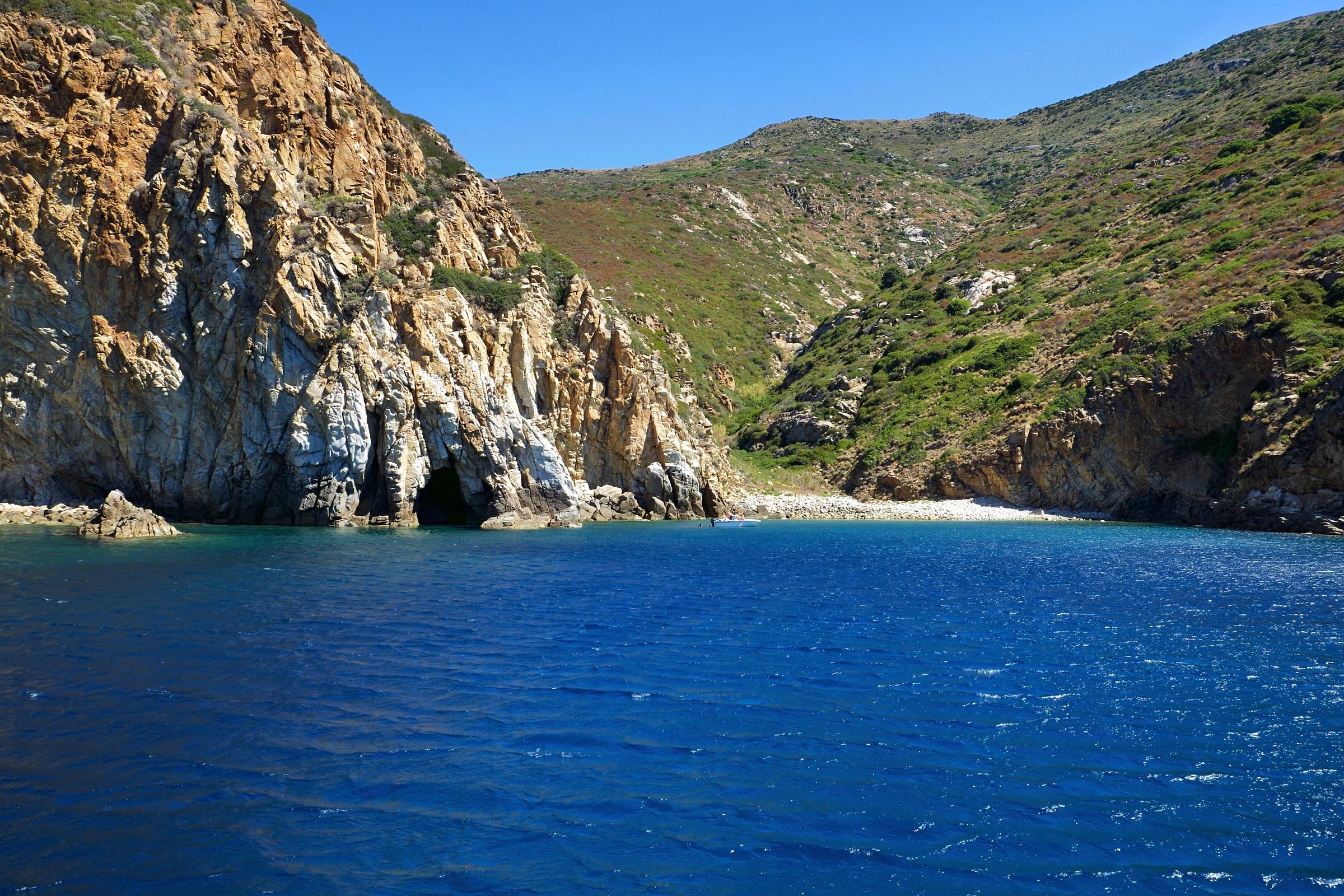Cala Corvo, Isola del Giglio...