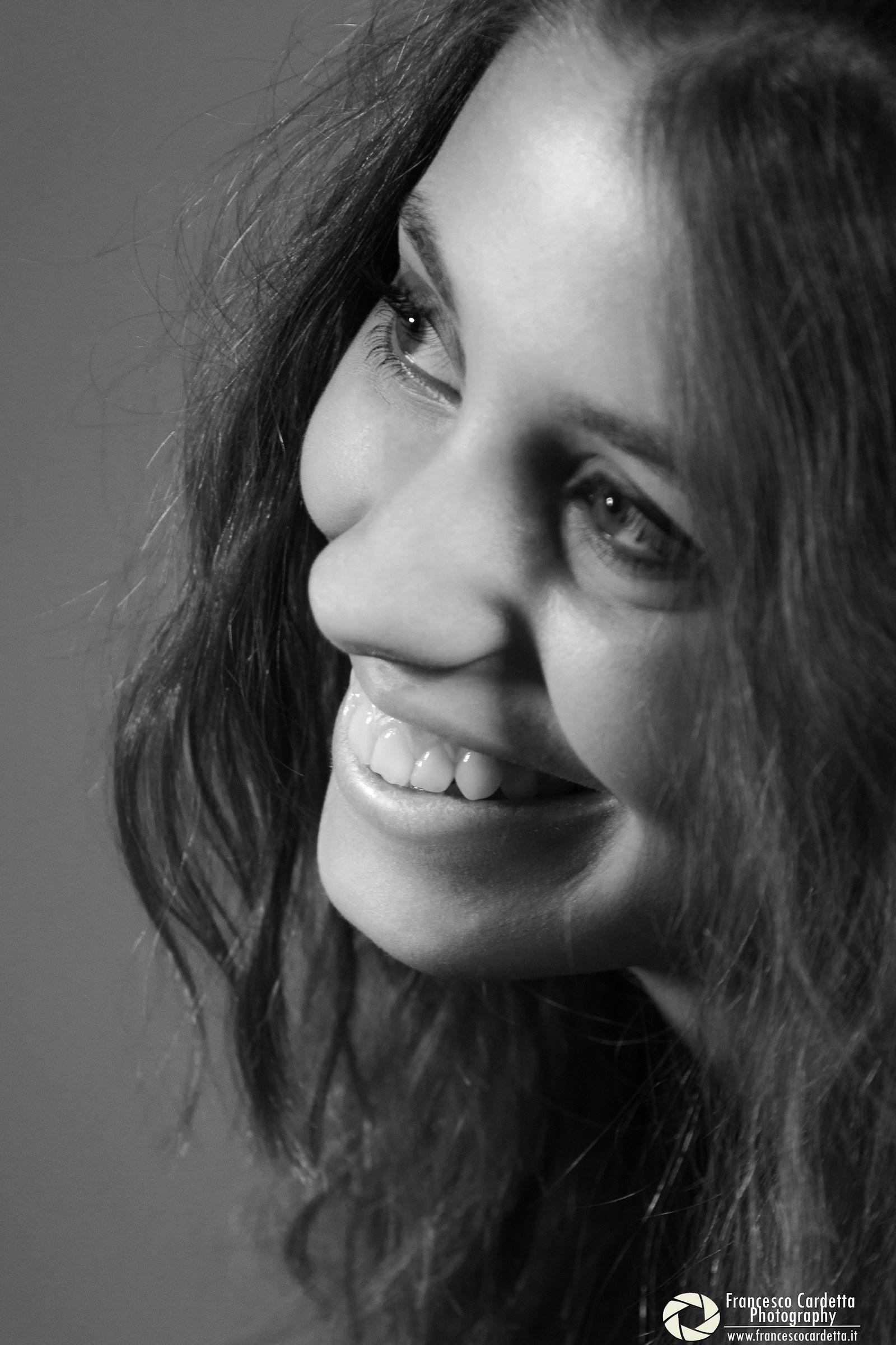 Black & White smile...