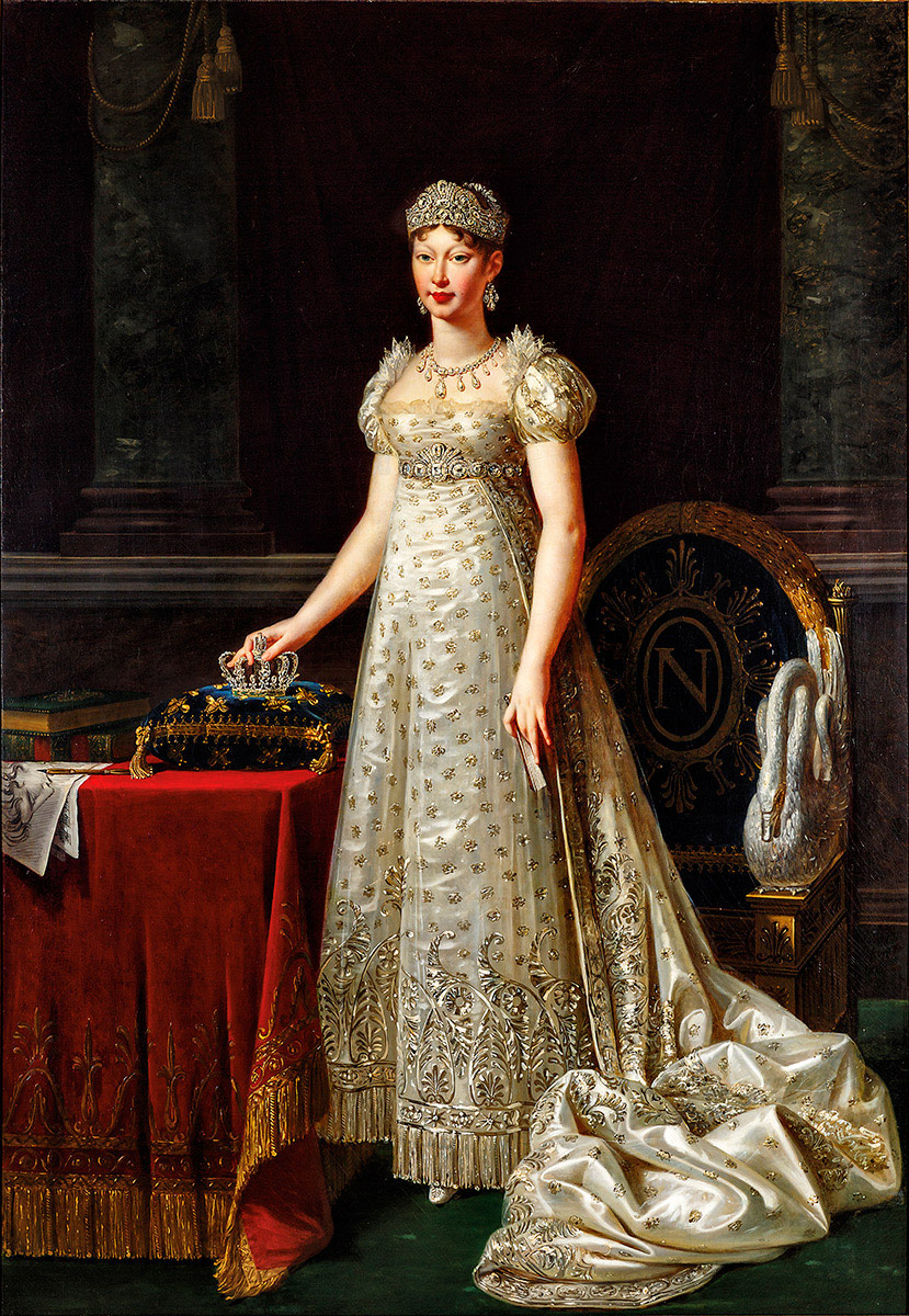 Portrait of Empress Marie Louise...