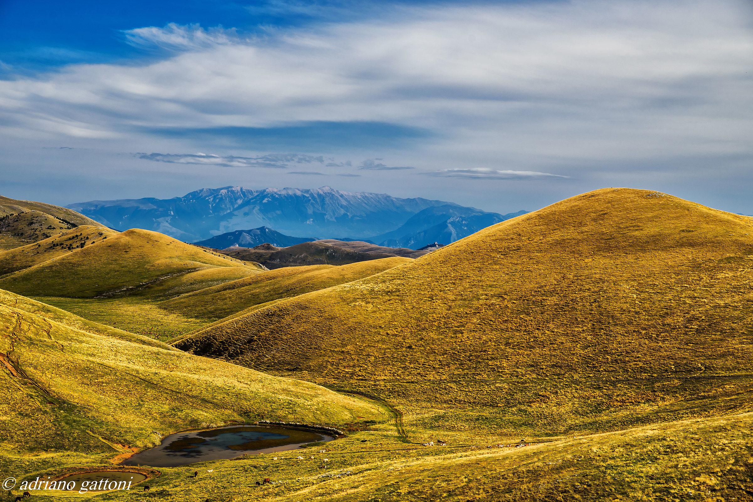 Campo Imperatore, a small Italian Tibet...