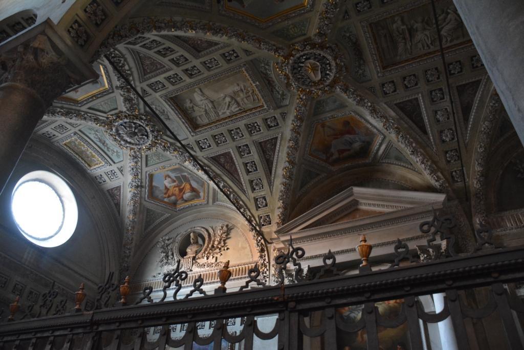 church interior detail...