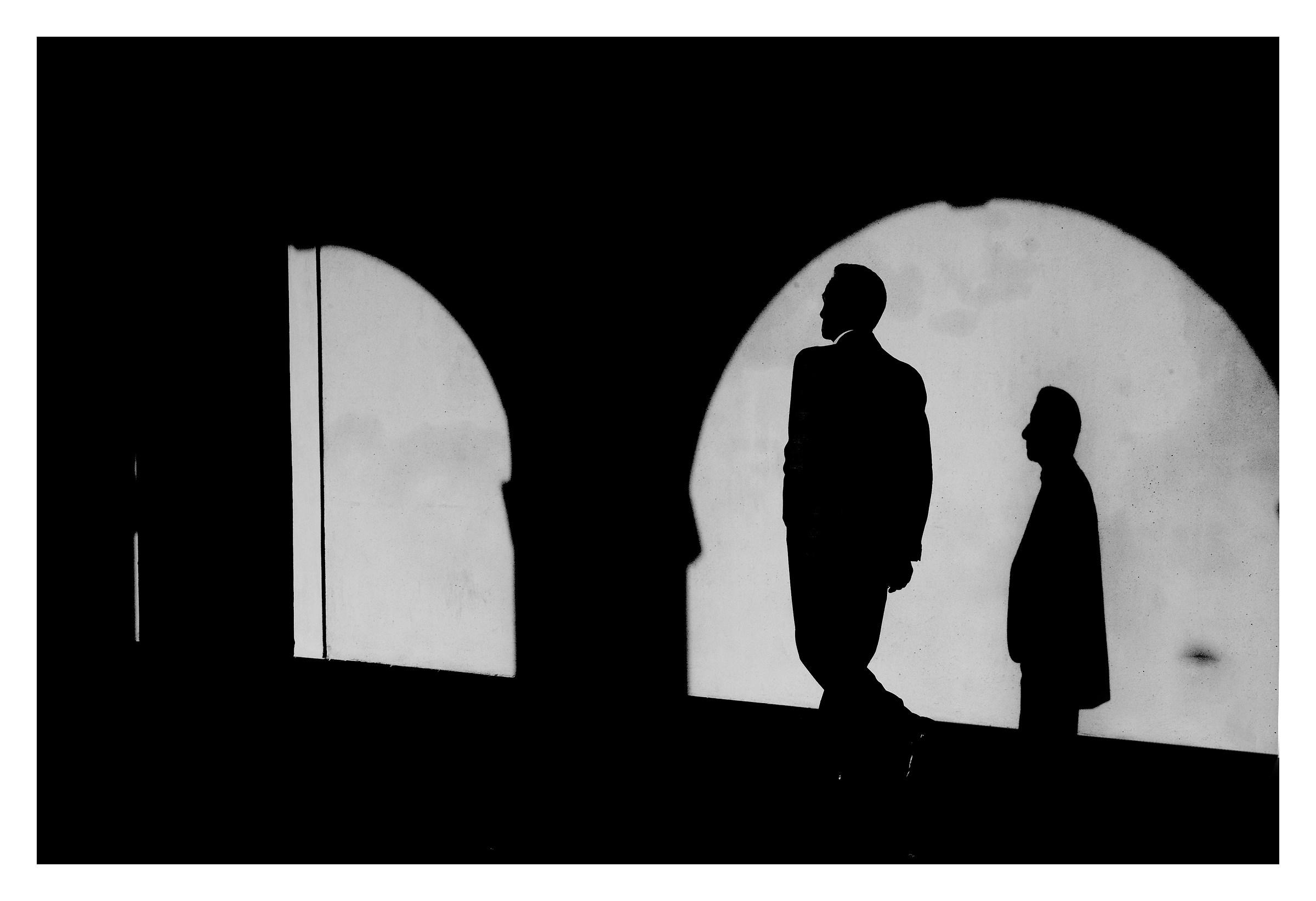 The silent man...