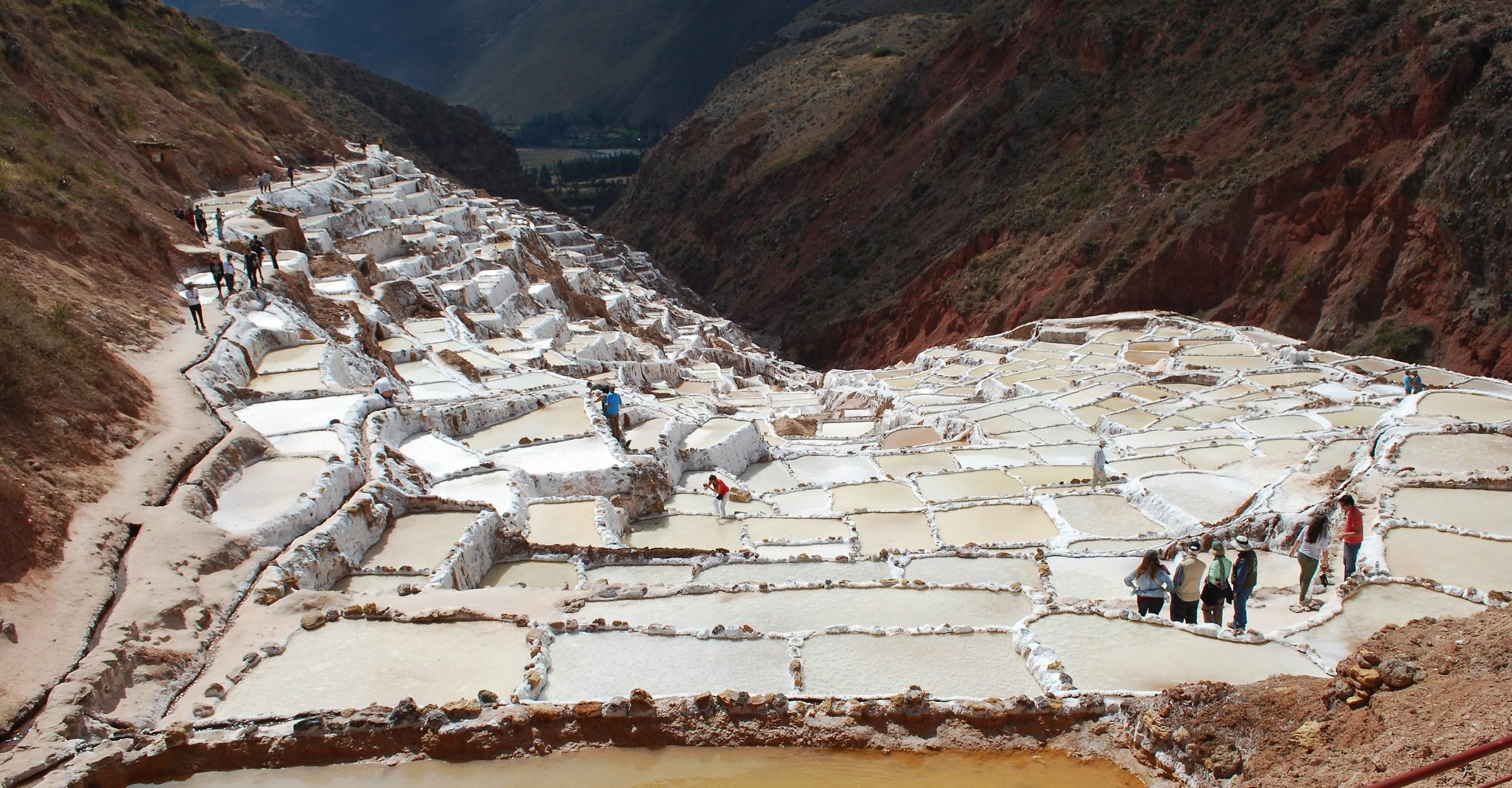 Peru / Cuore di sale / Saline di Maras...
