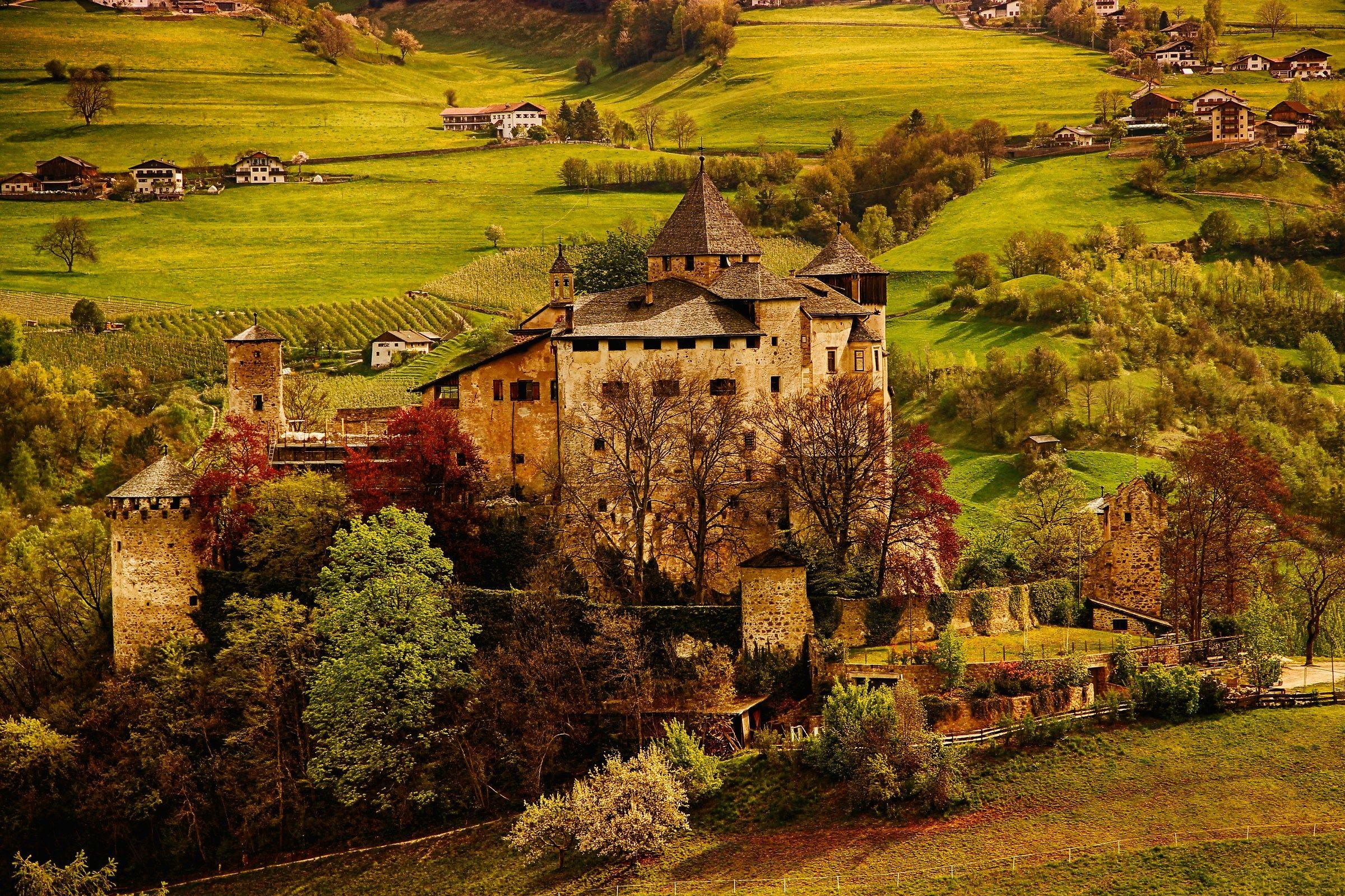 Prösels Castle...
