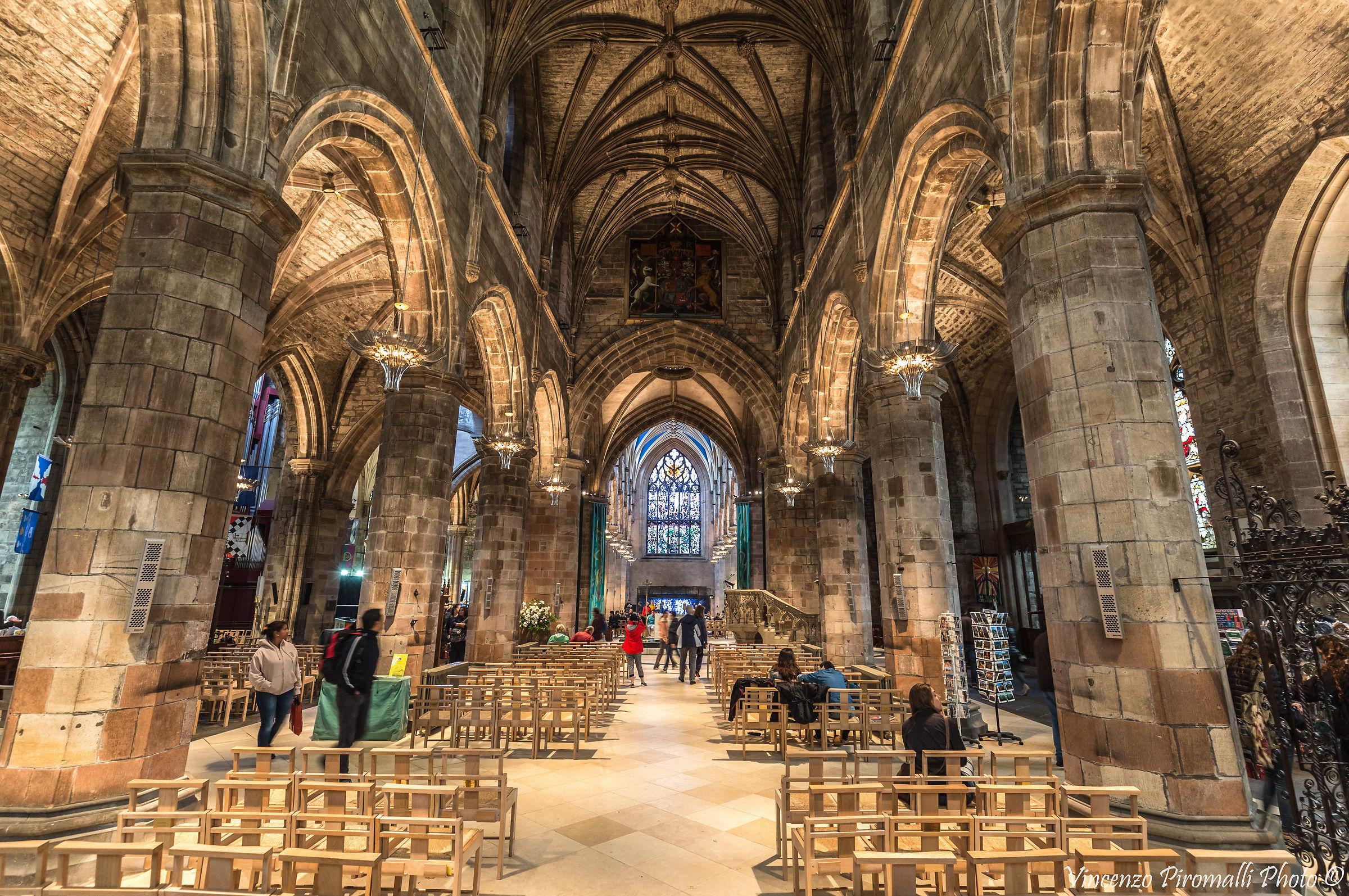 Inside St. Giles...