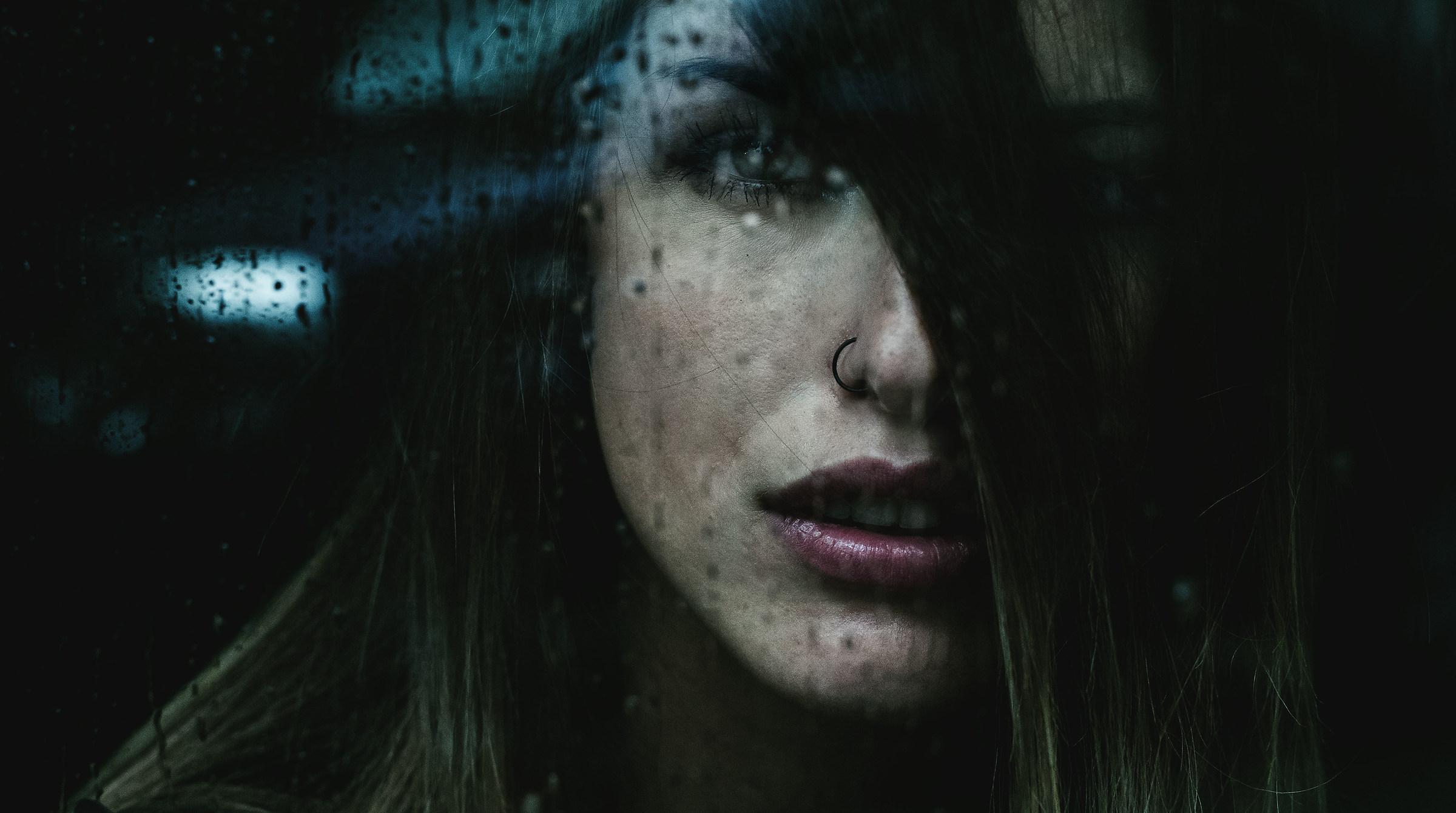 Rain........emotional portrait...