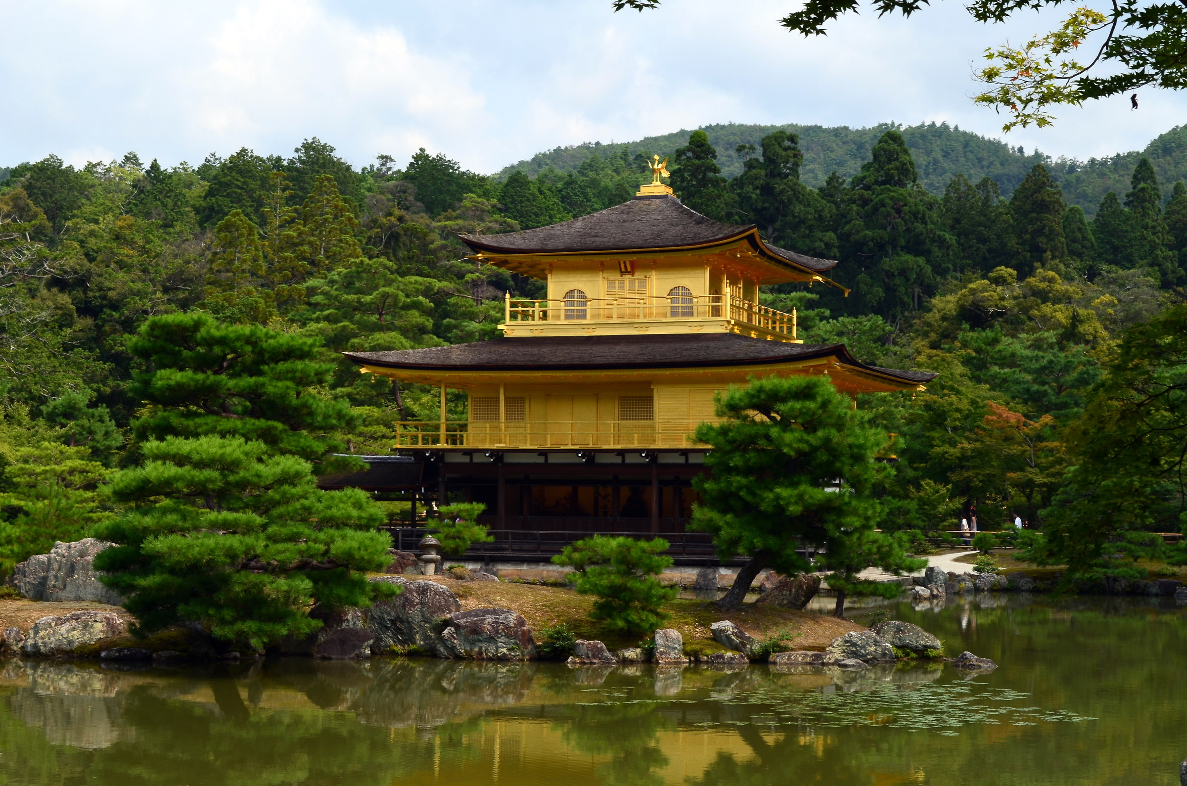 Golden Temple - Kyoto...