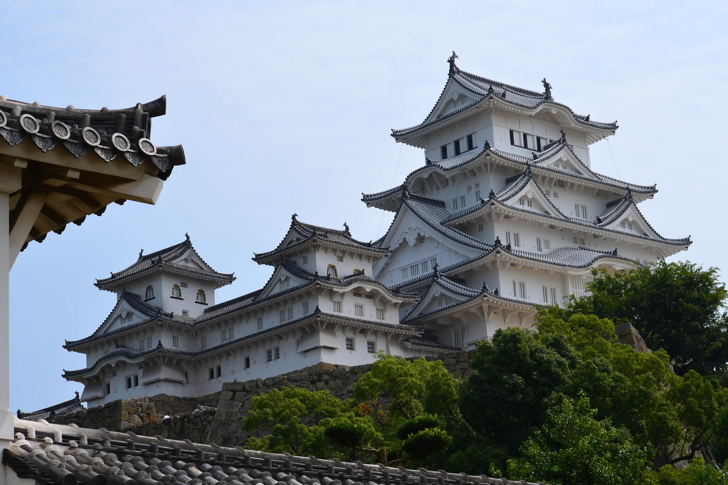 Osaka Castle...