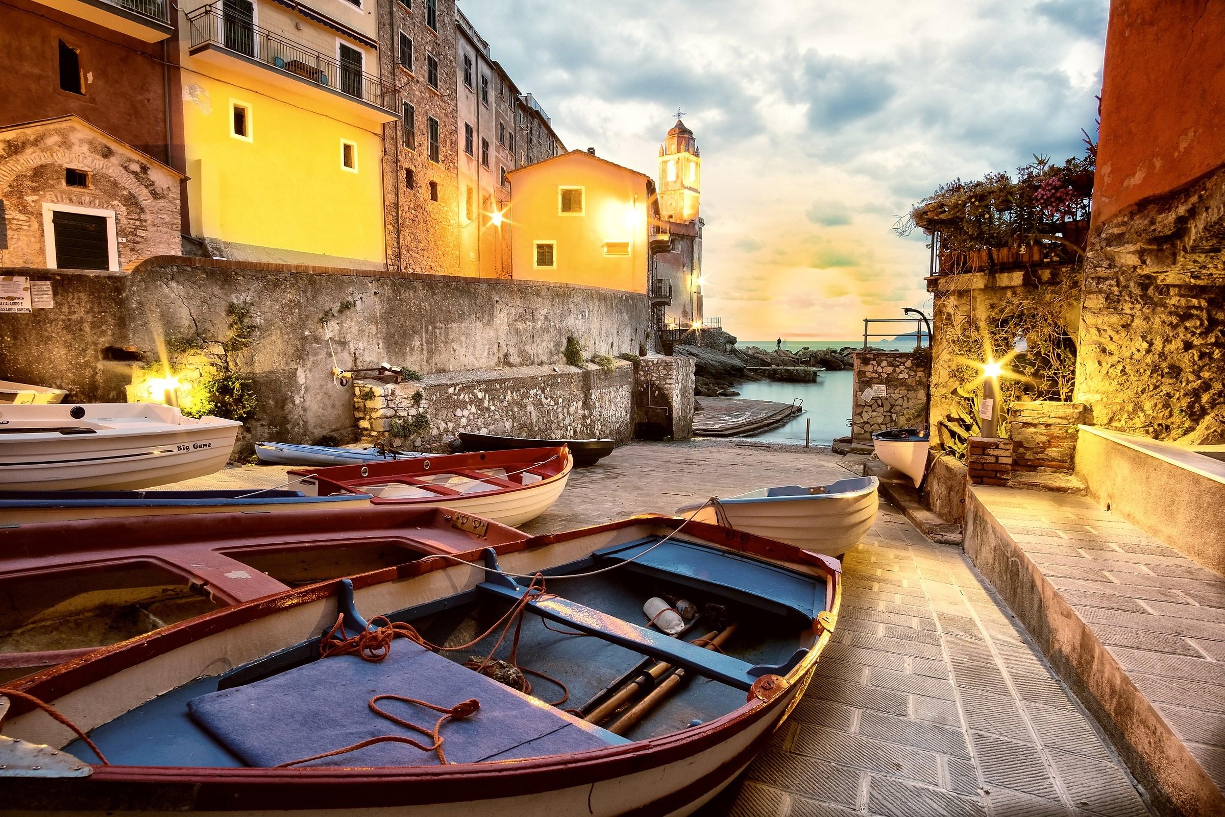 Barche e Mare Tellaro...