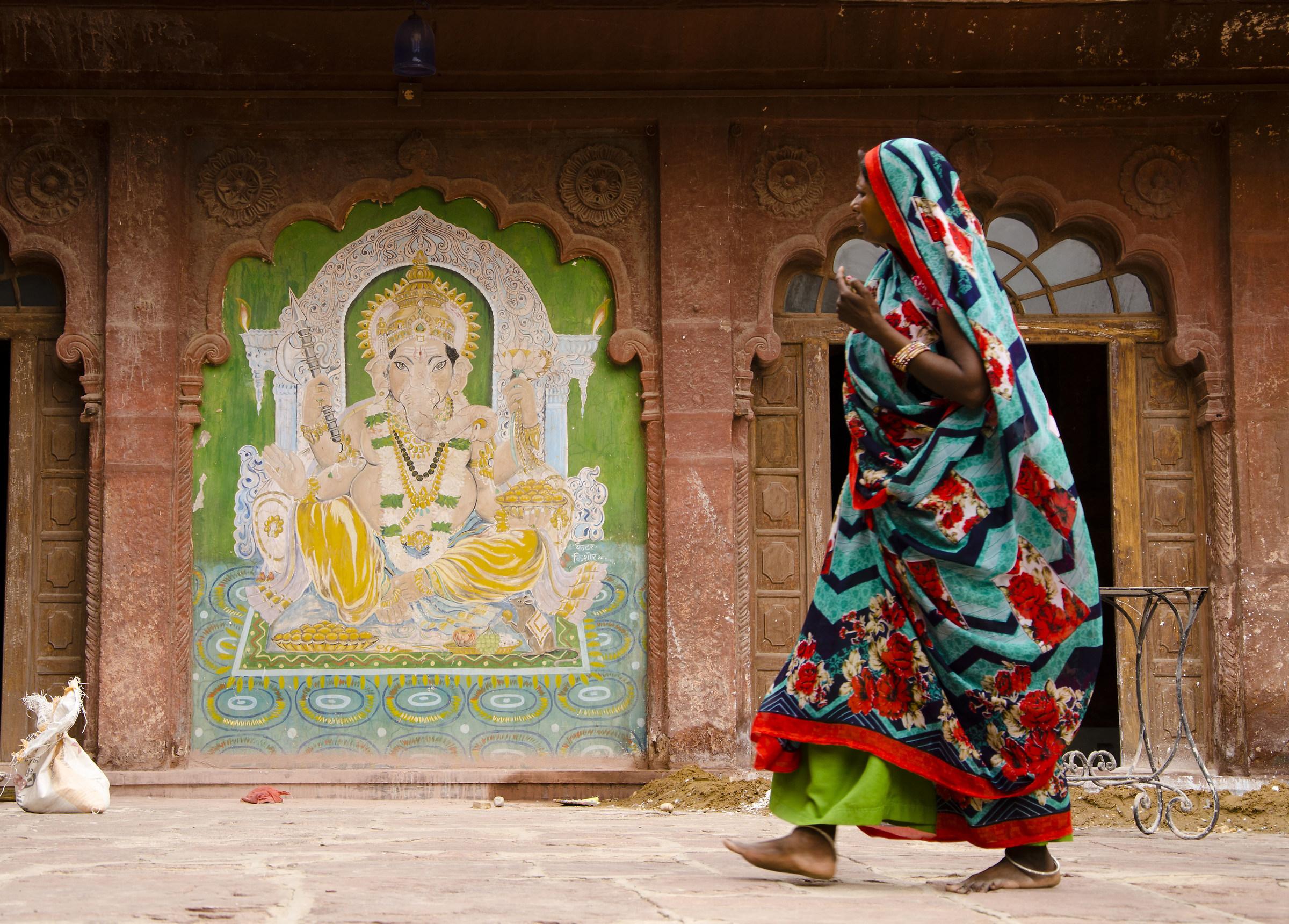 La Donna e Ganesh...