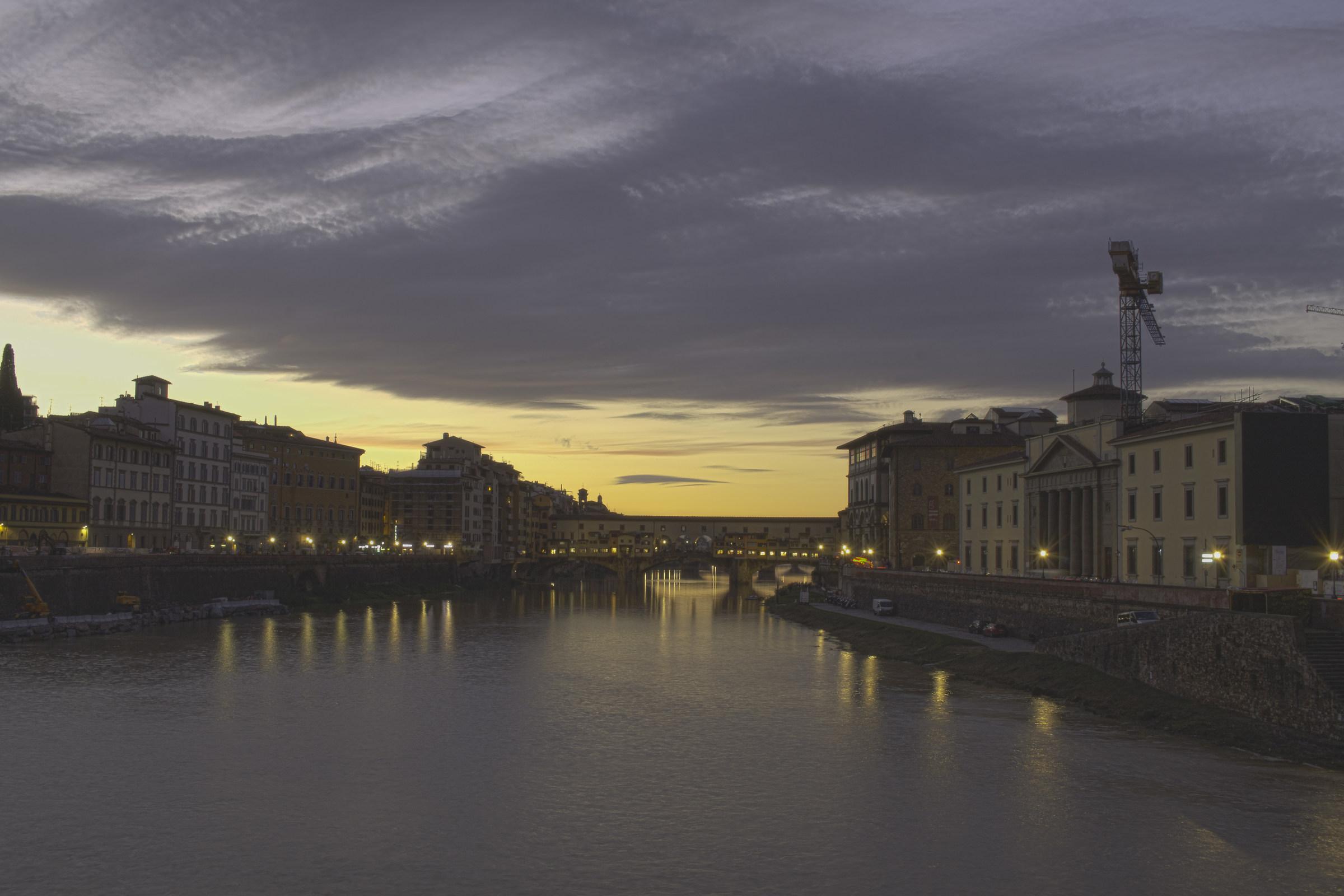 Old Bridge at dusk...