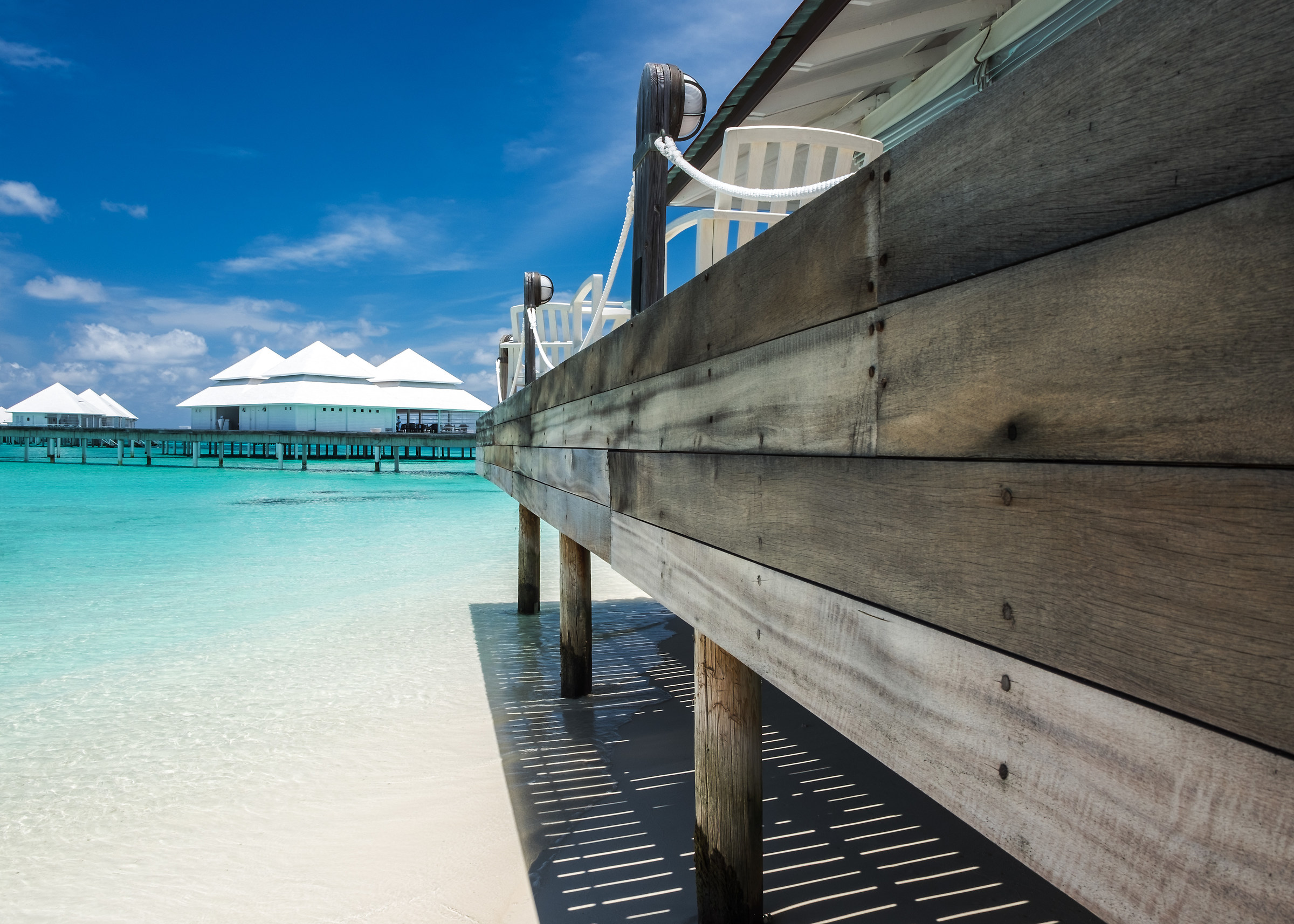 Maldives Thudufushi Island...