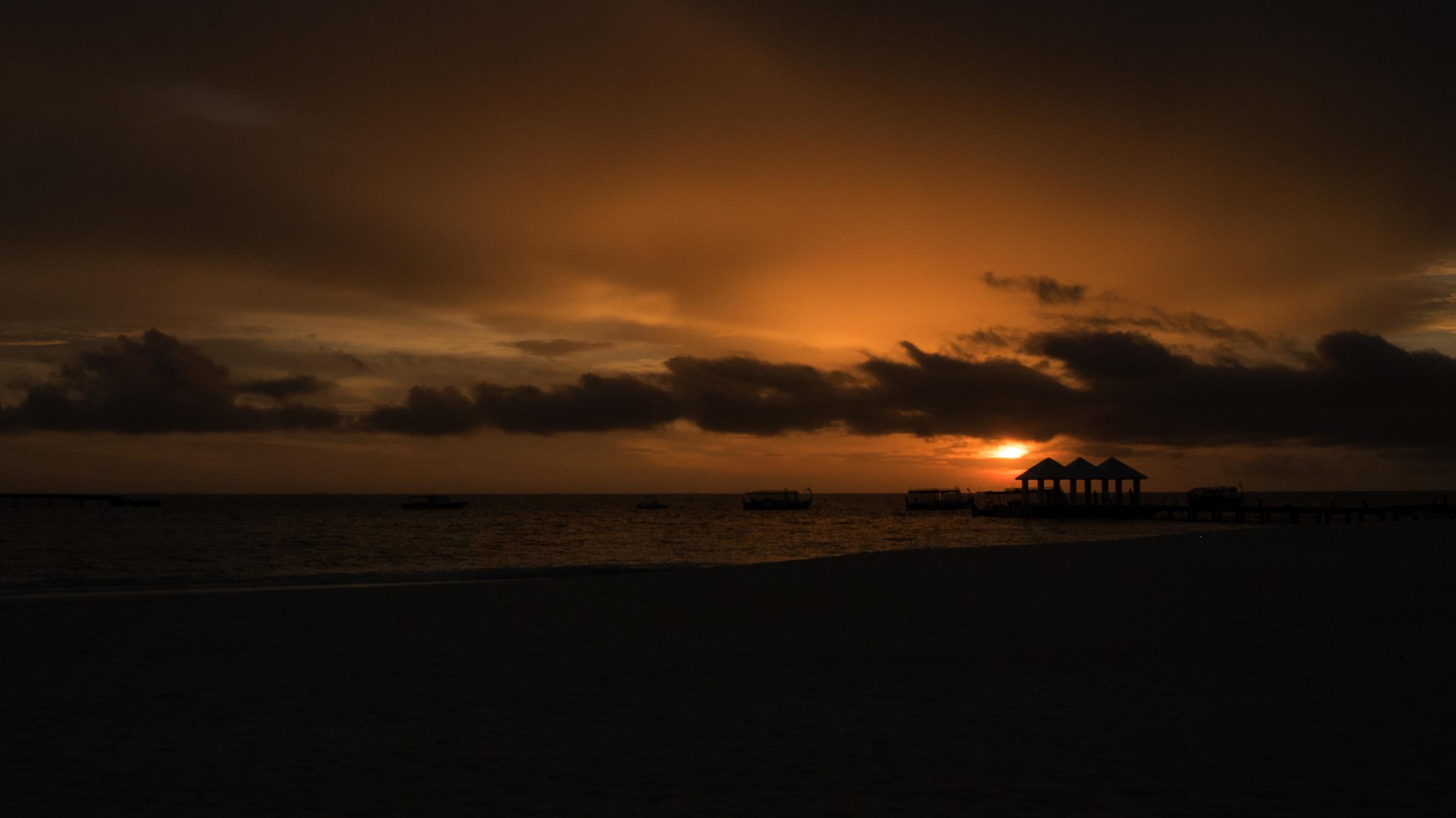 thudufuschi island sunset...