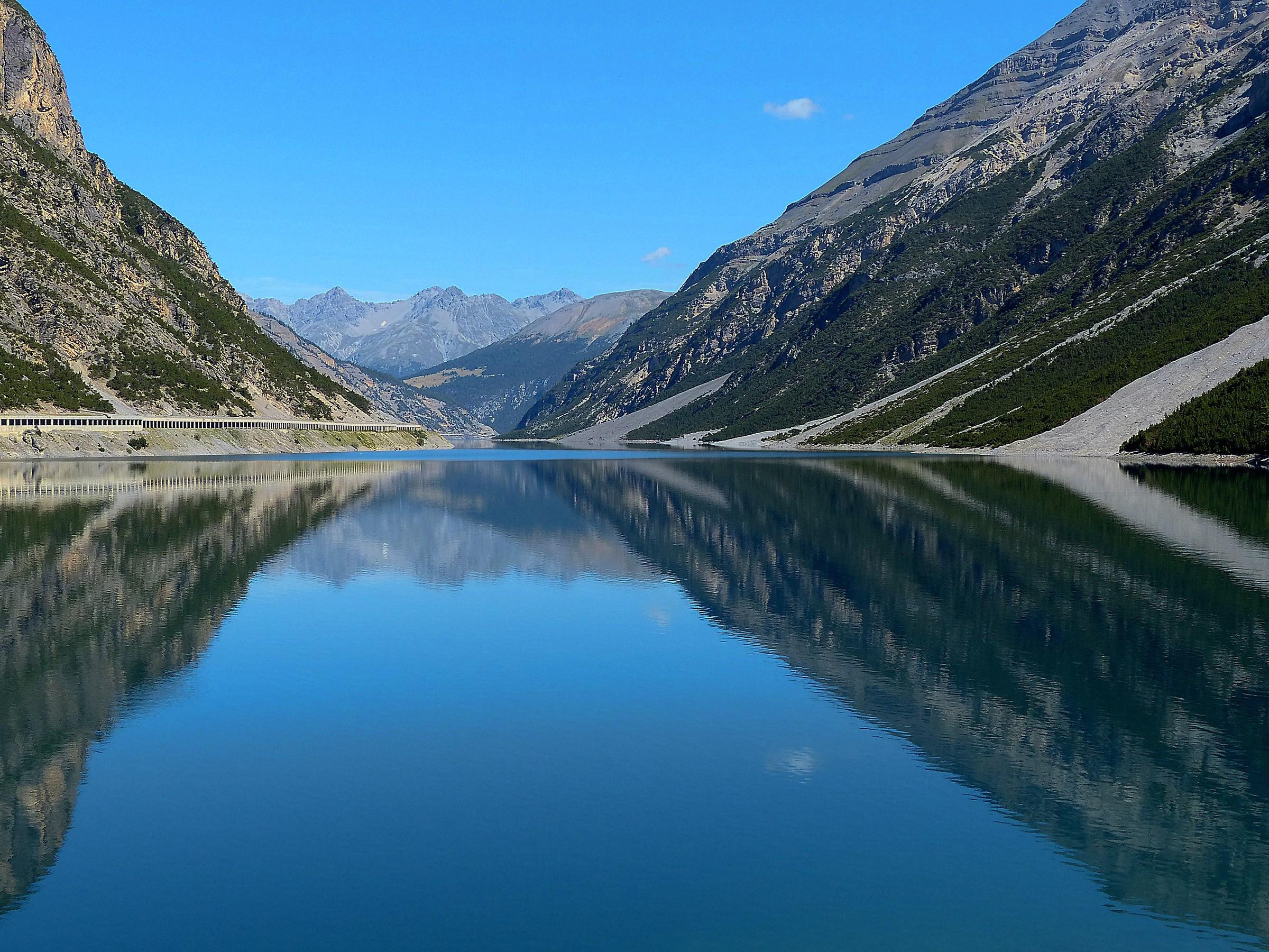Livigno, il lago...