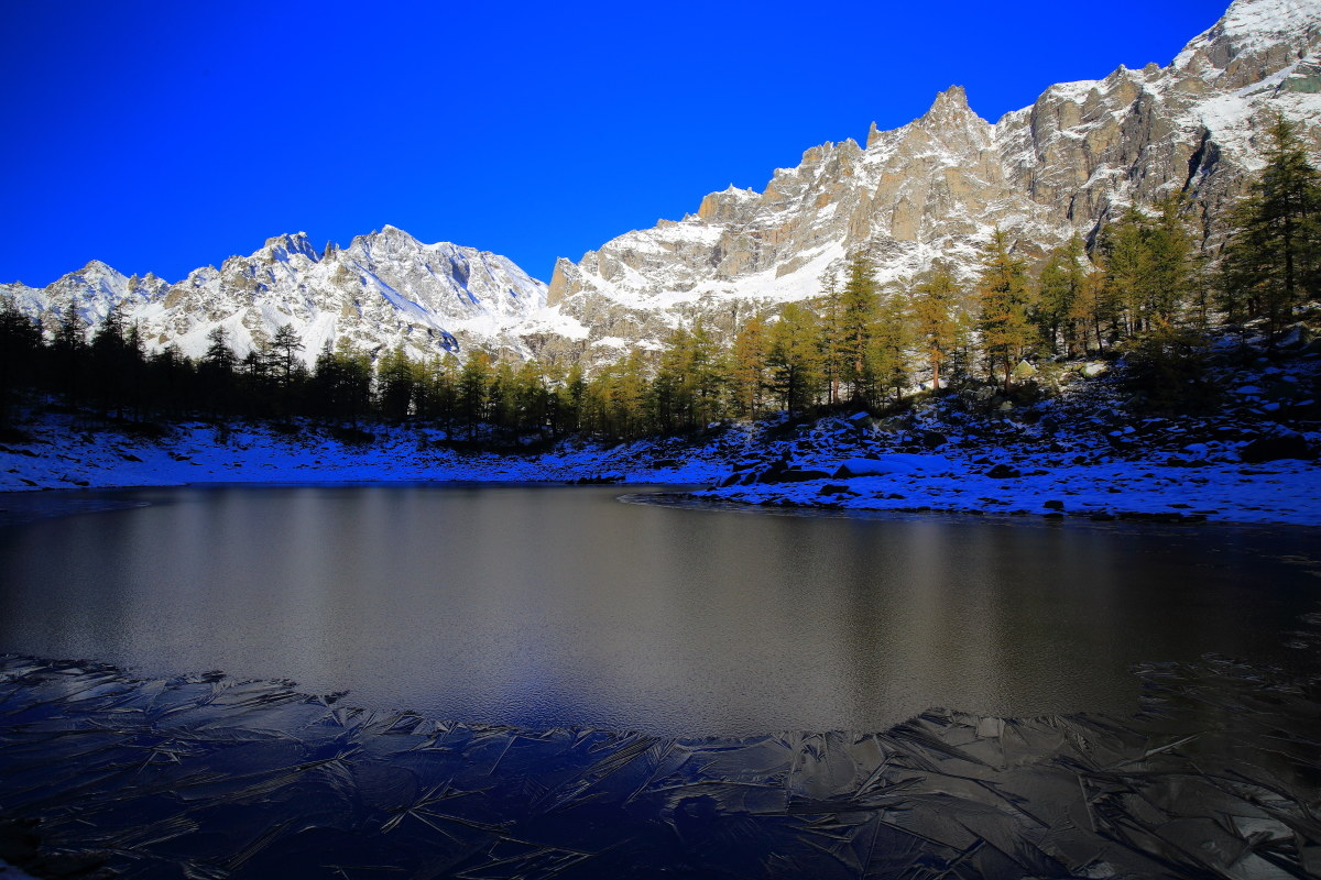 the Black Lake has the chills...