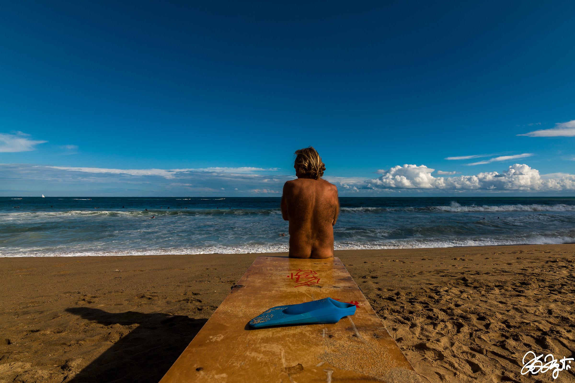 Barceloneta beach...