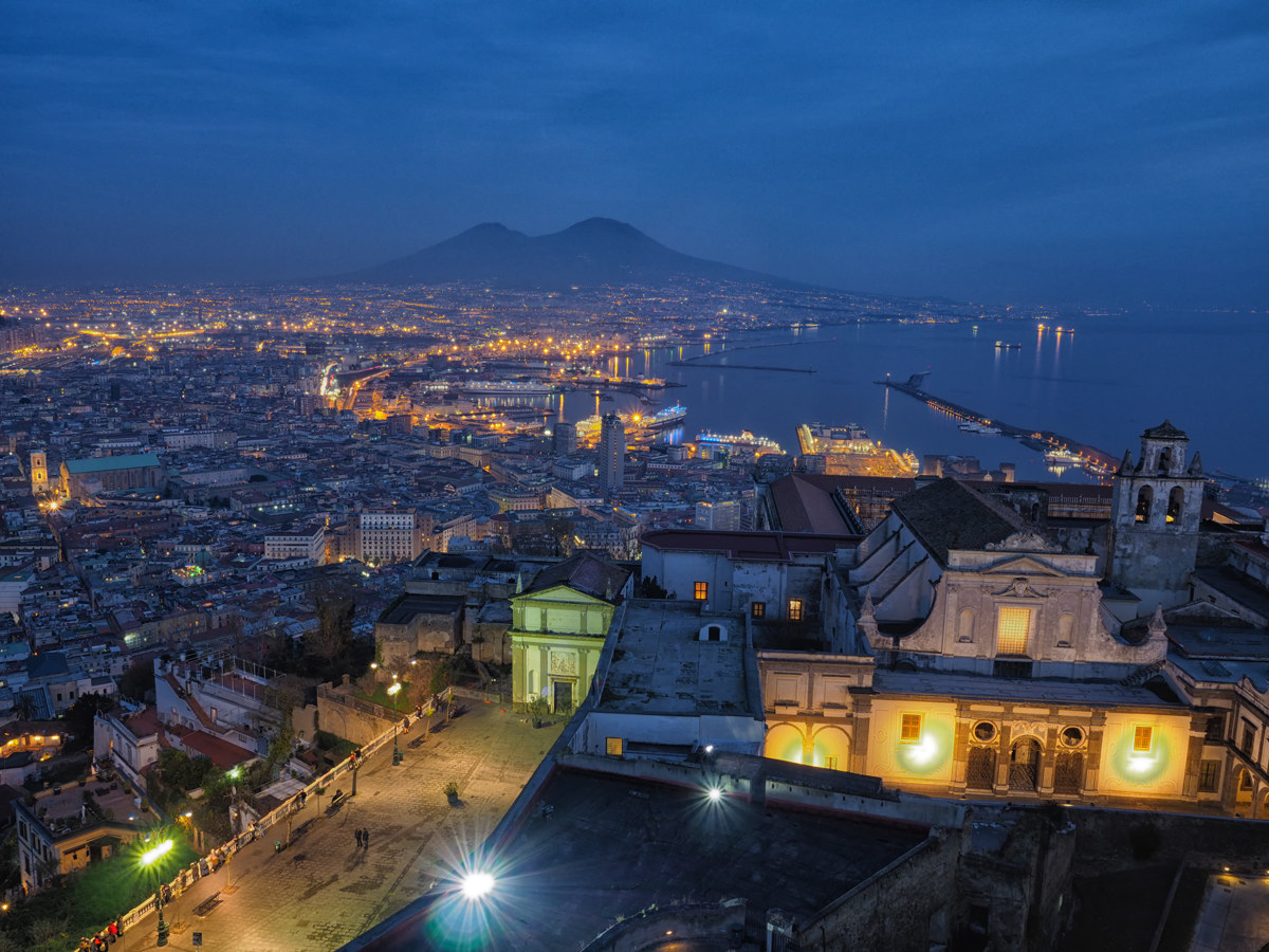 from San Martino see the whole city ......