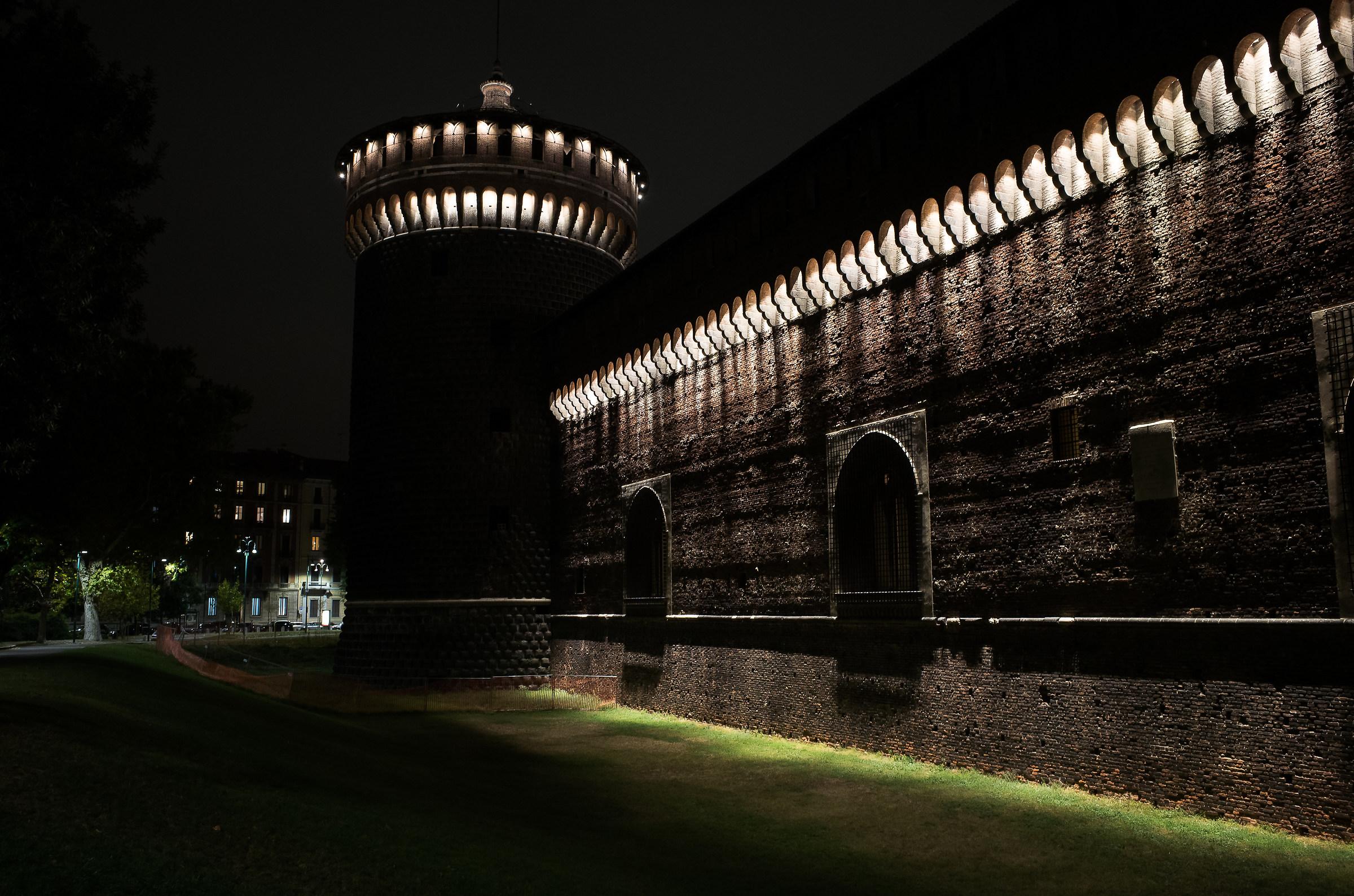 Castello Sforzesco...