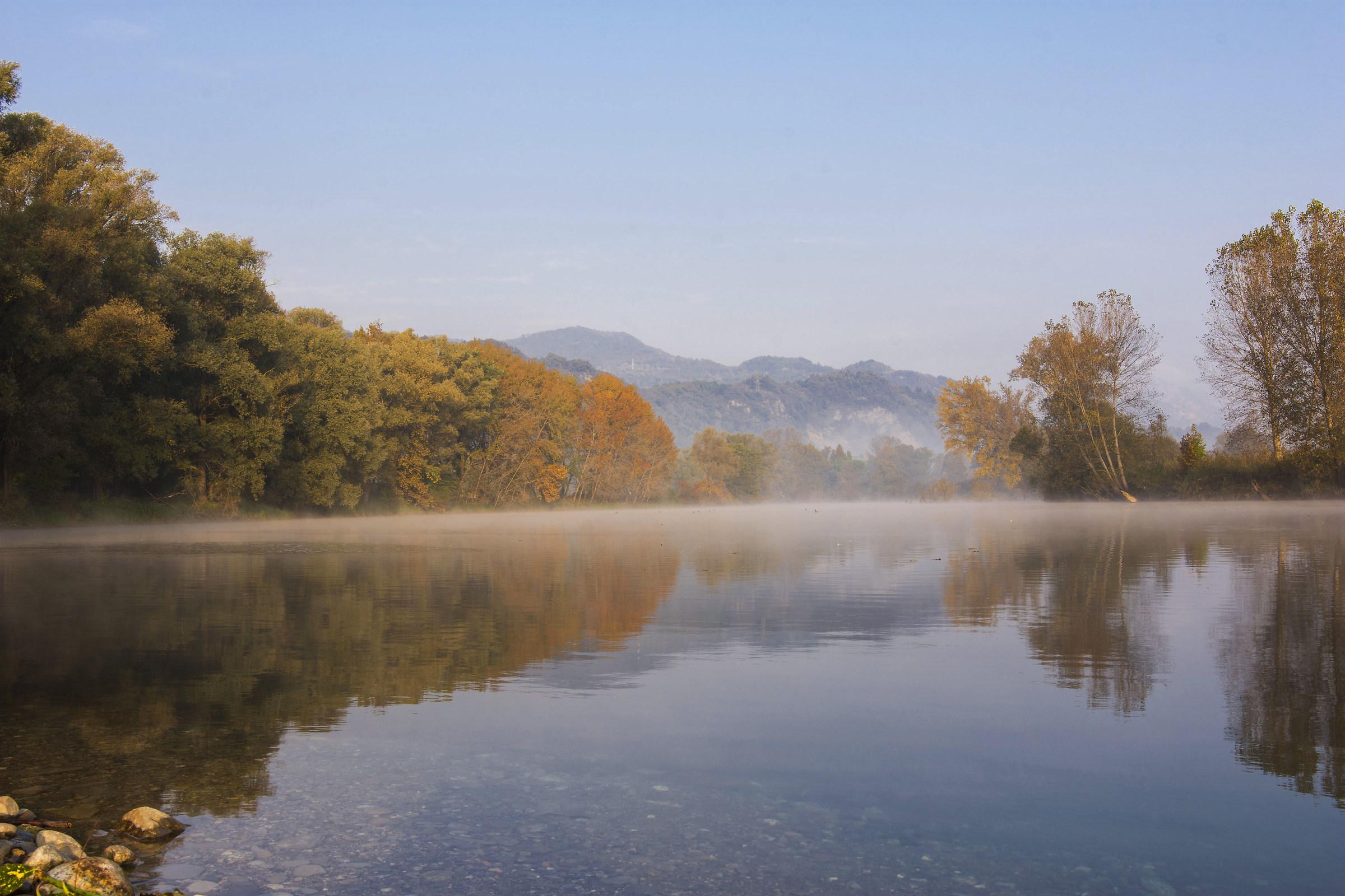 The colors of Autumn sull'Adda...
