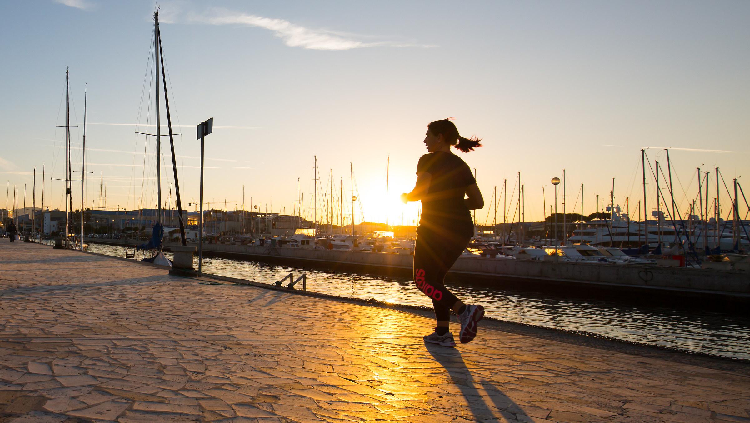 run to the sun...