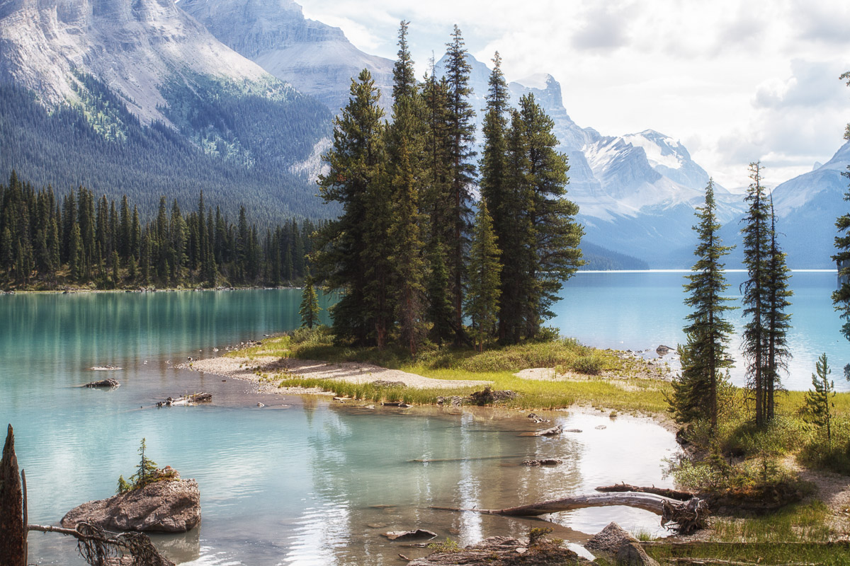 Maligne Lake, Canada...
