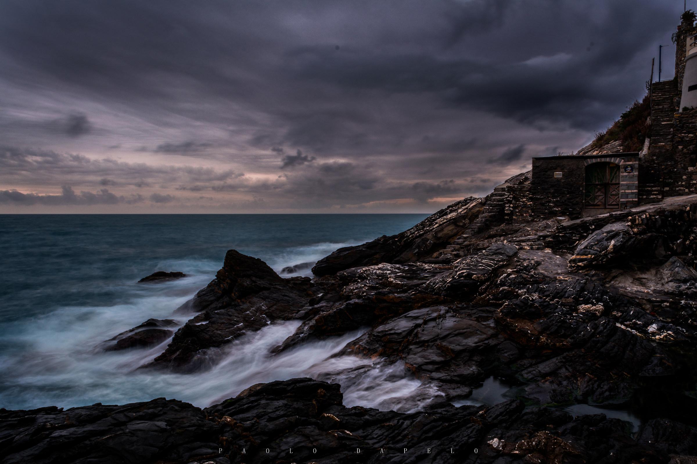 cliff...