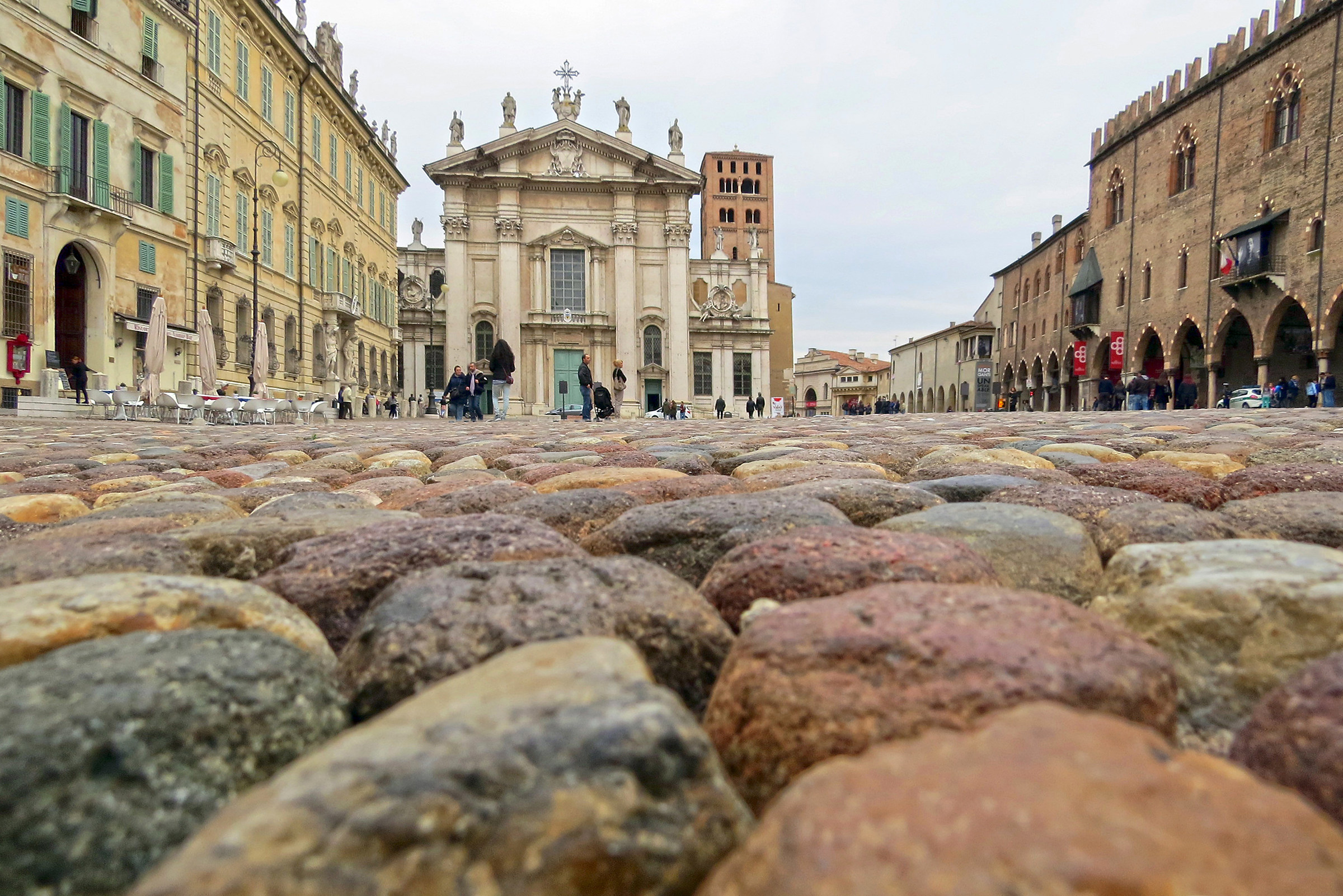Mantua Cathedral and Palazzo Ducale...