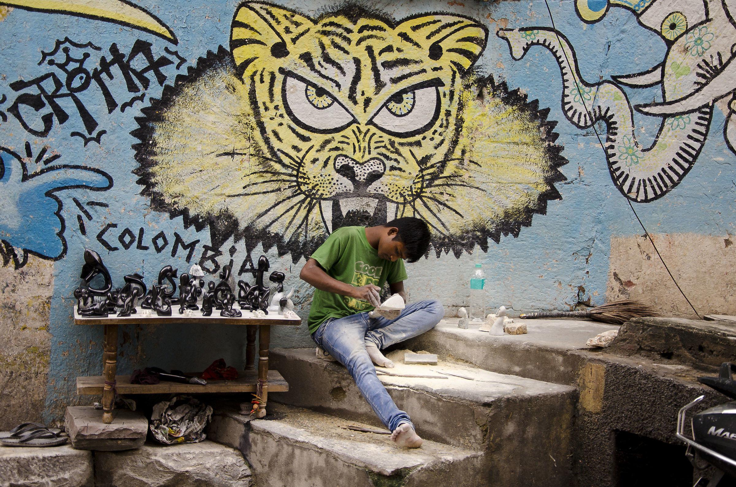 Lo scultore e la Tigre...