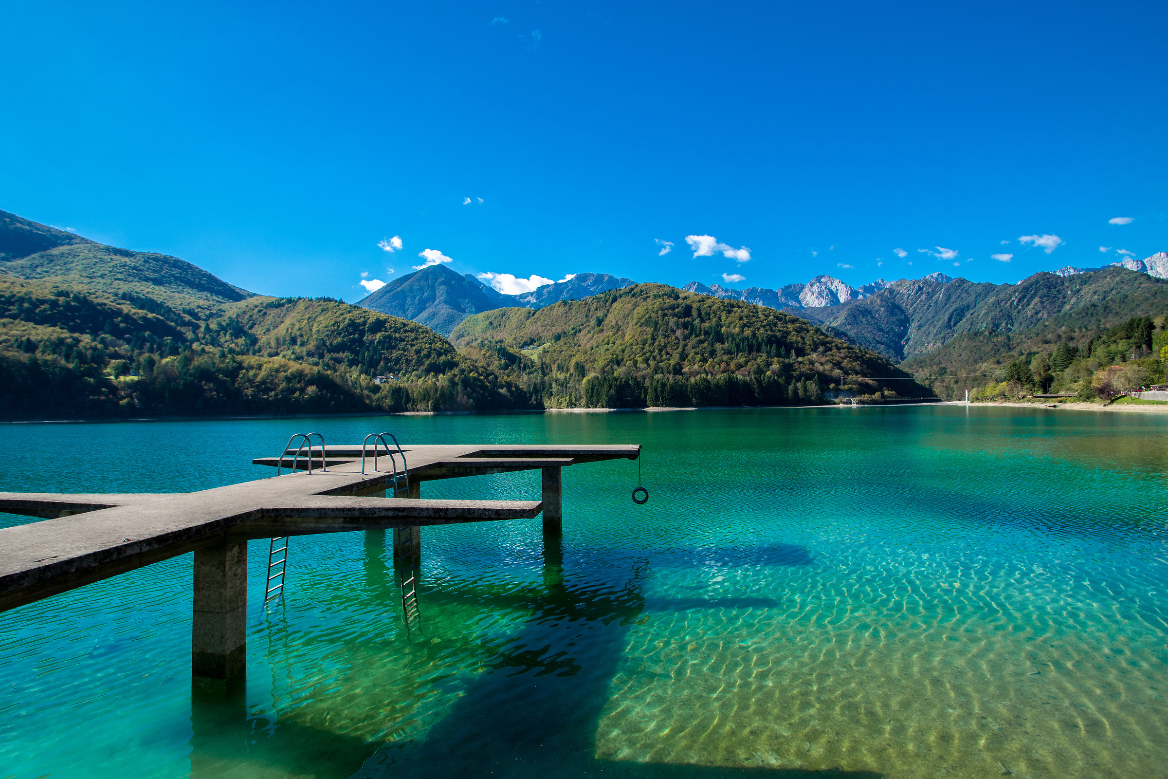 Barcis Lake...