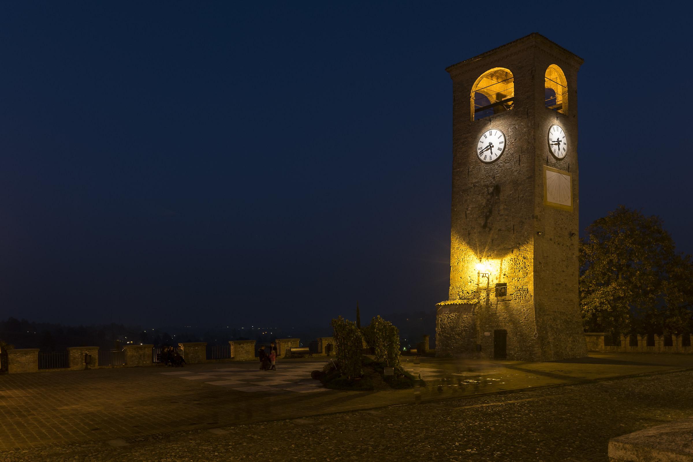 clock tower...