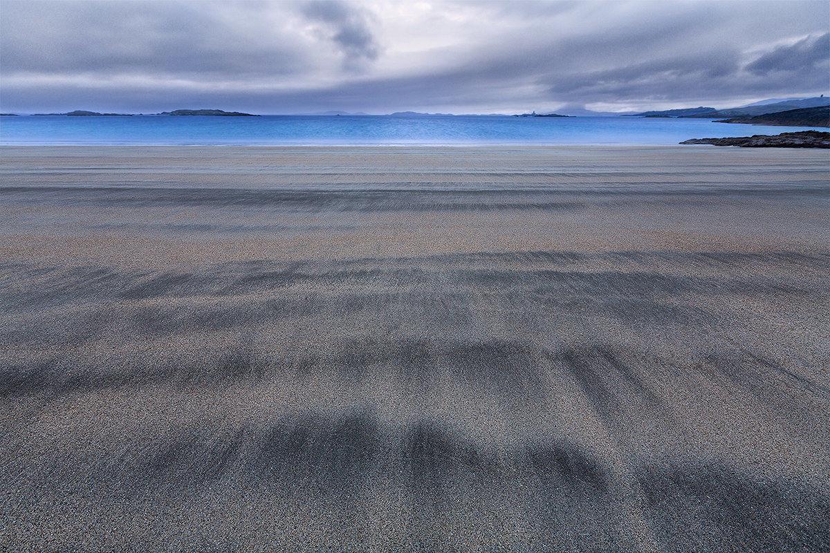 Glassilaun beach...