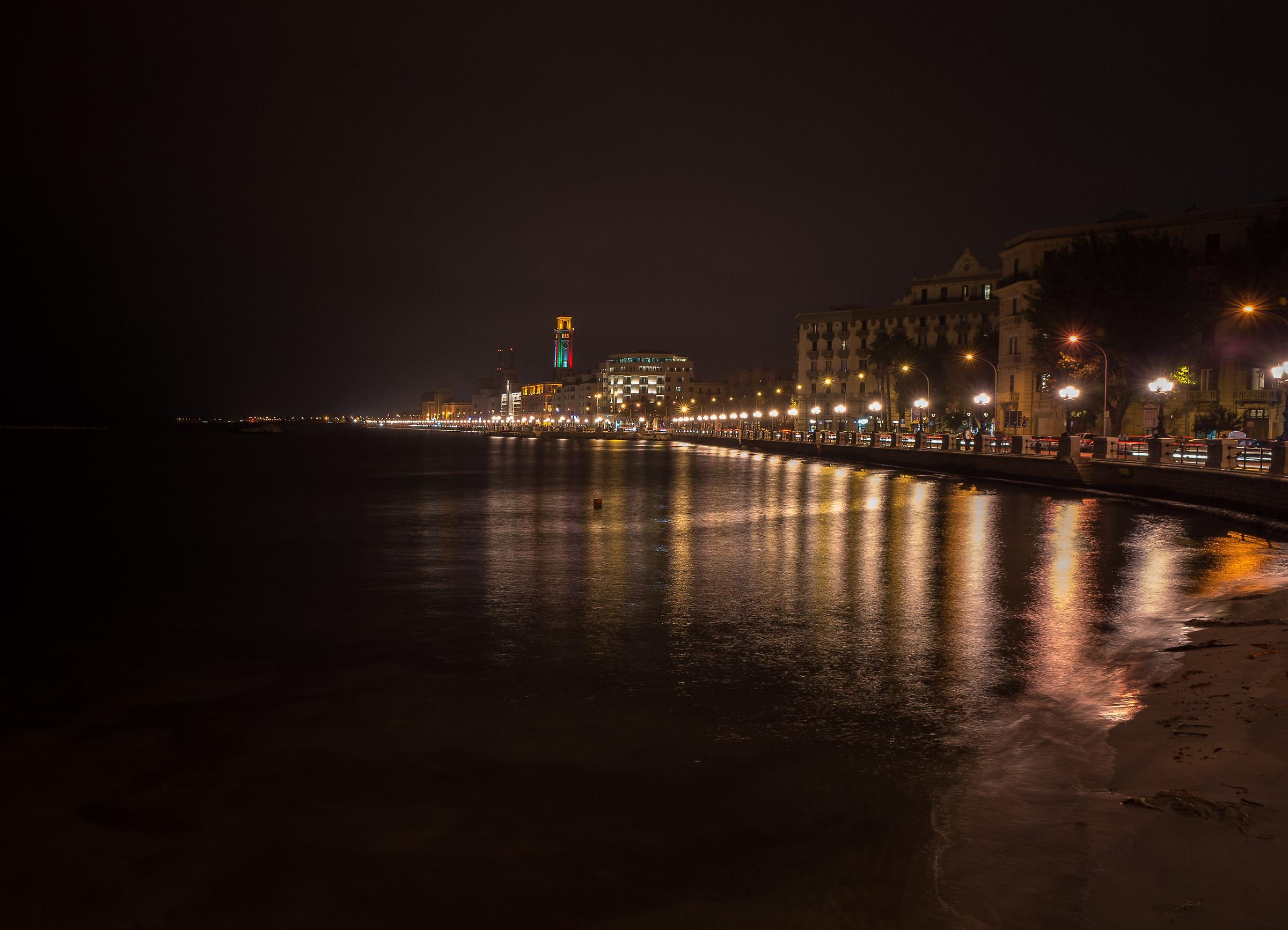 Lungomare di Bari...
