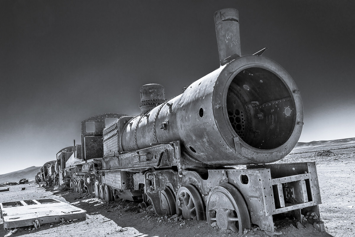 """And the locomotive seemed a strange monster""..."