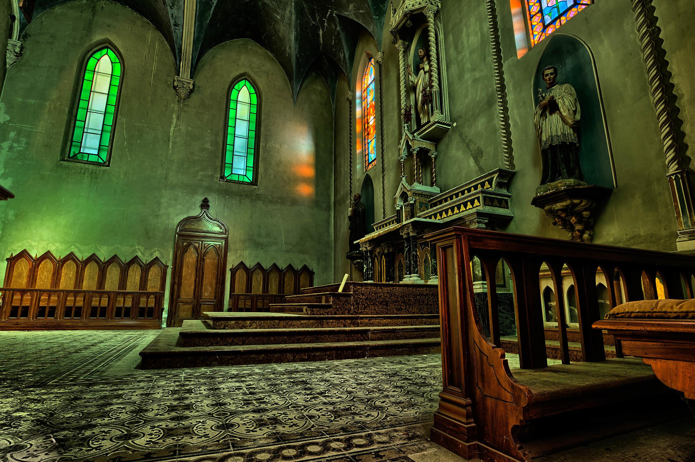 La chiesa blu.....wow...