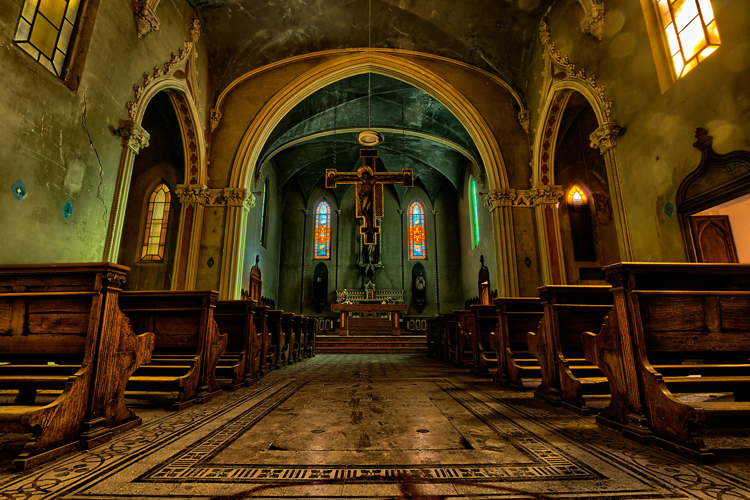 La chiesa blu.......