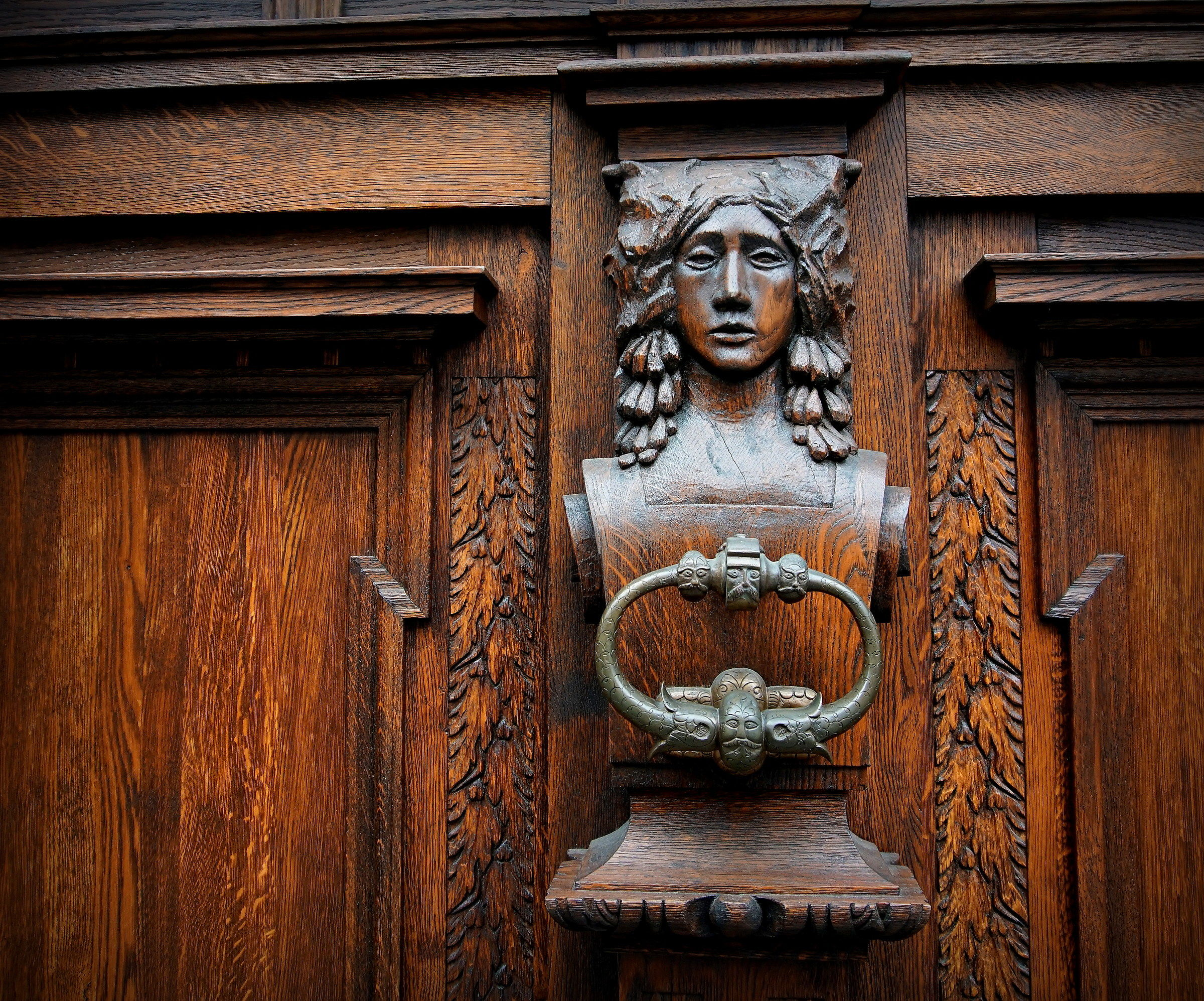 Doornocker, (in the city of Krumlov)...