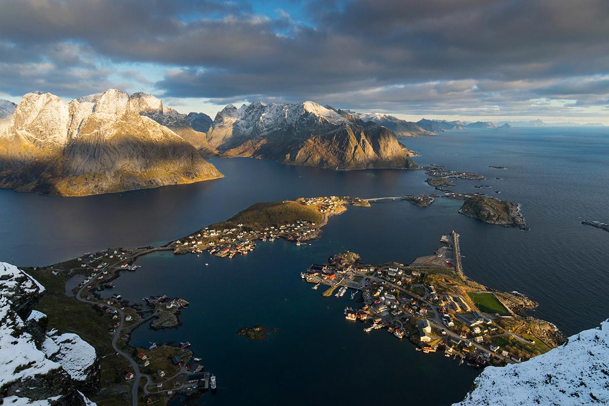 Reinefjorden...