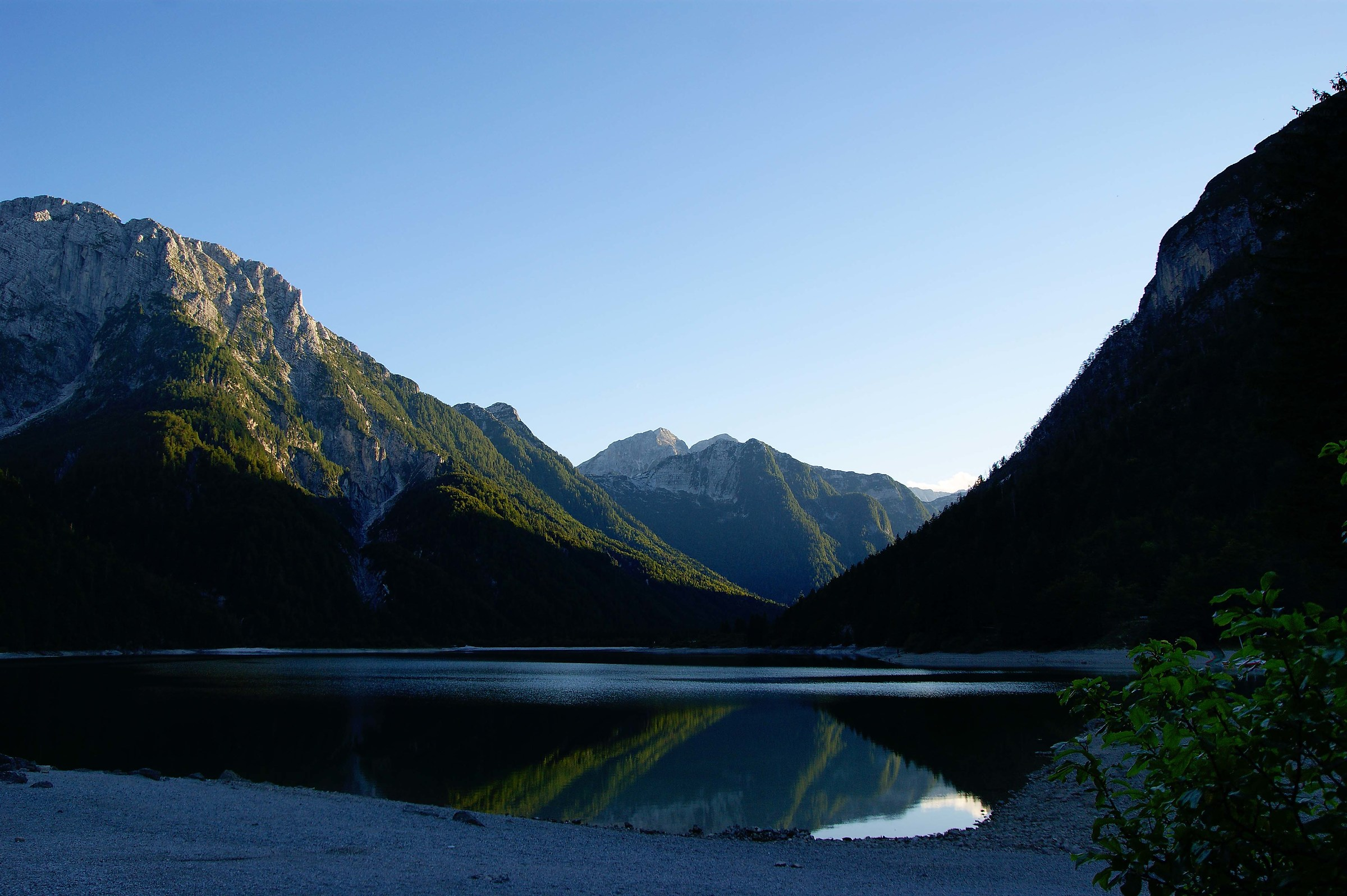 Lago del Predil...