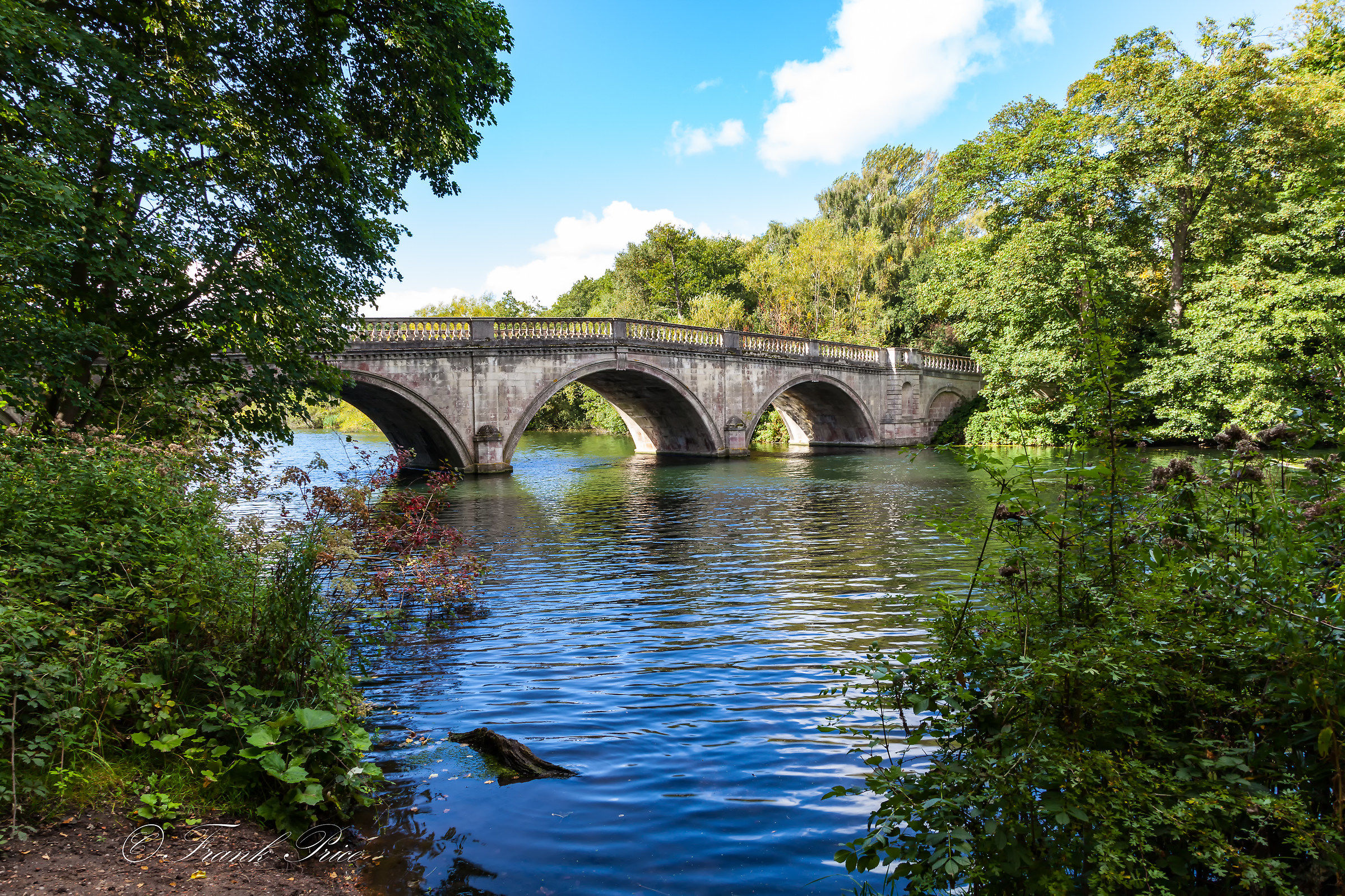 Clumber Park Bridge View 3...