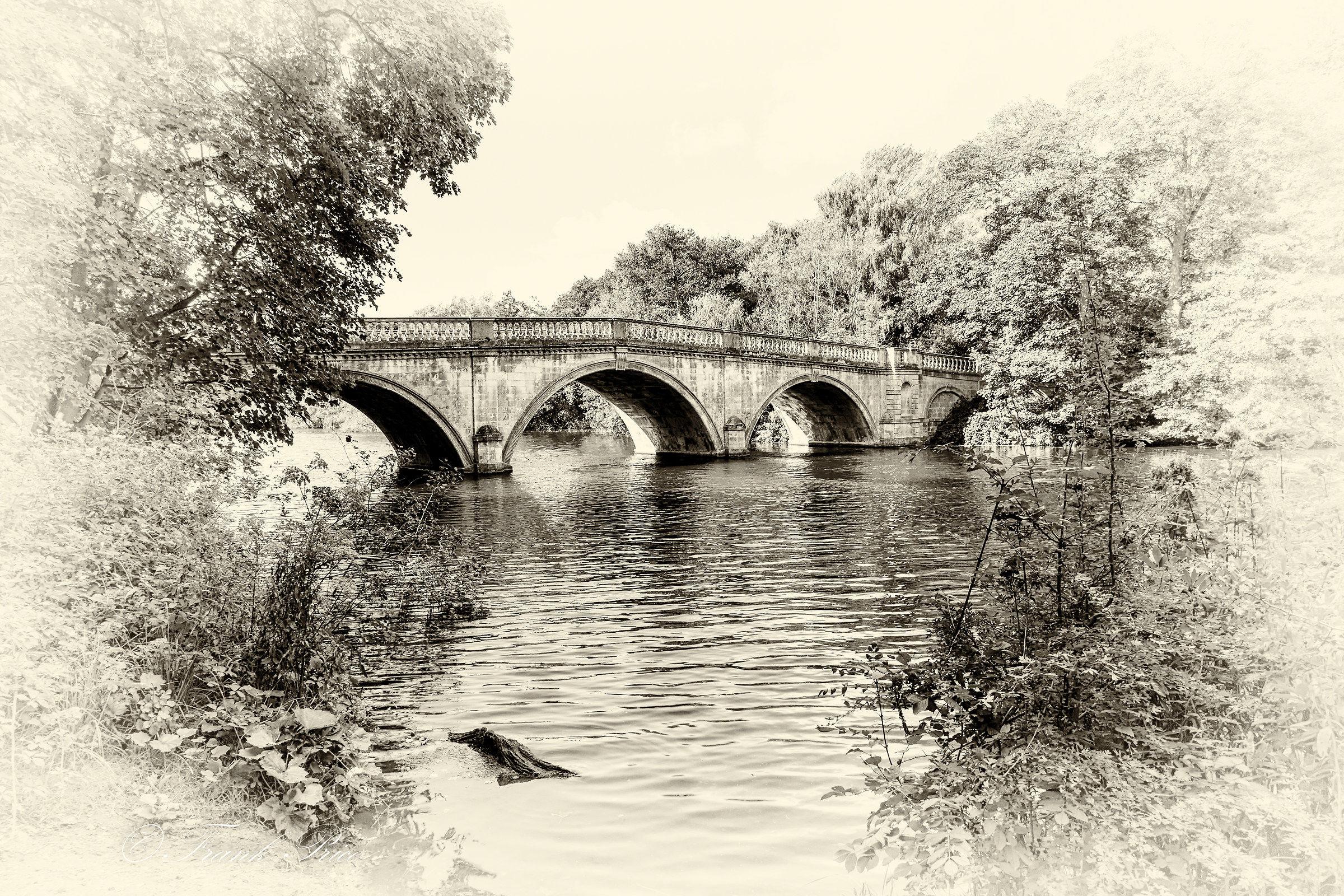 Clumber Park Bridge View 4...