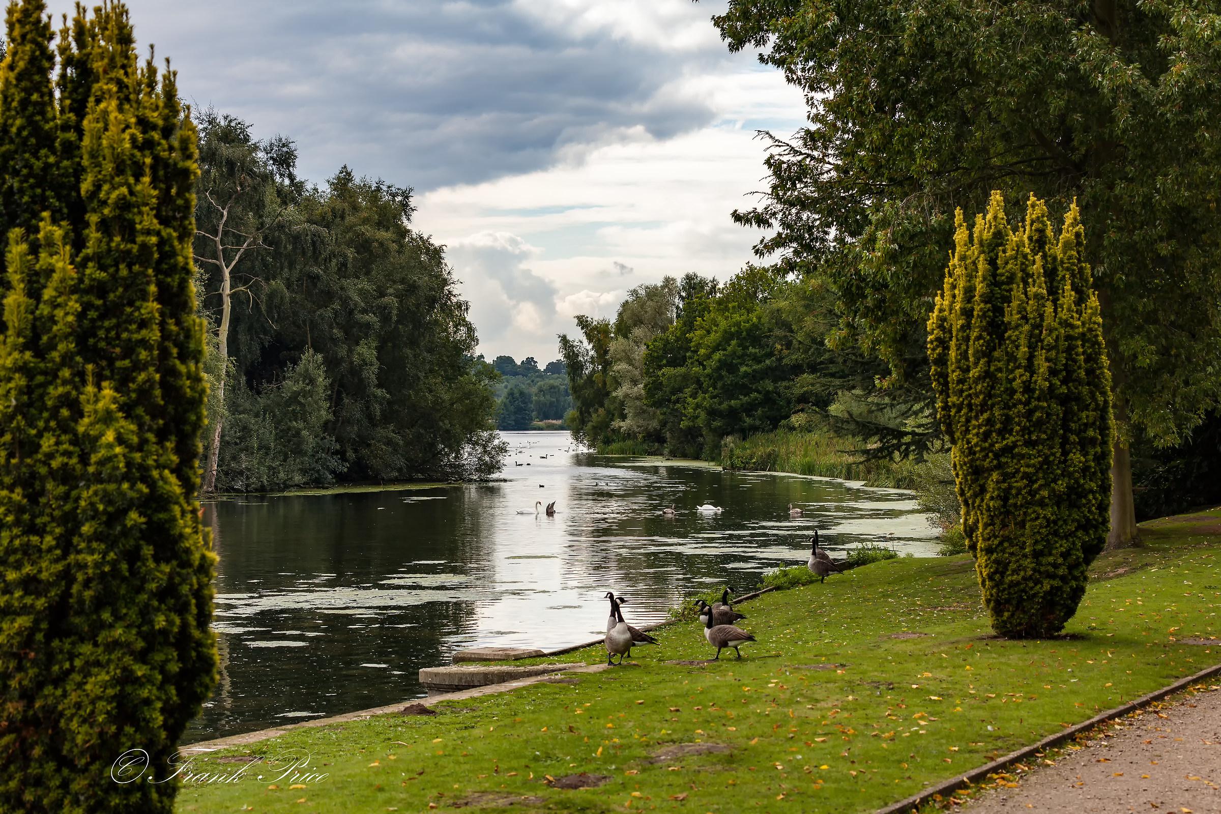Clumber Park Lake View...