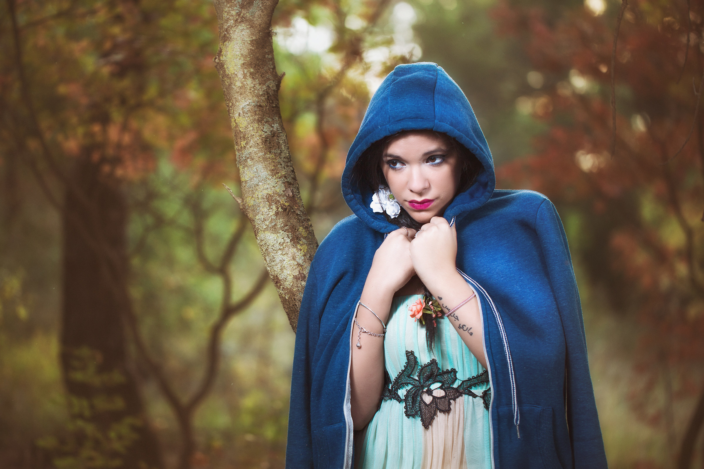 Blue Riding Hood?...