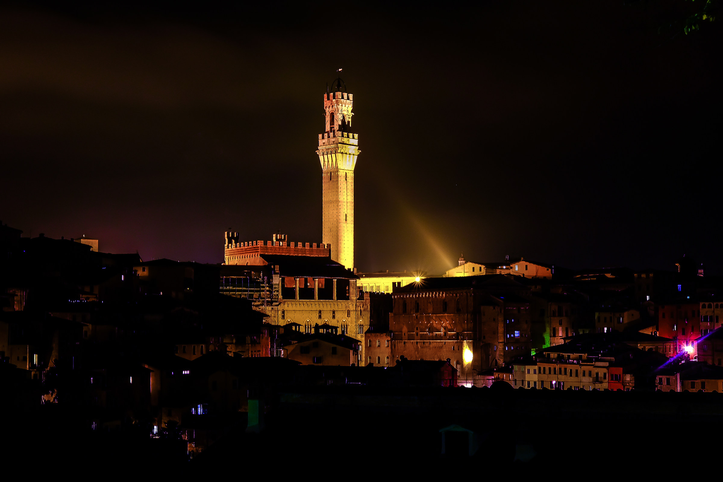Luci di Siena...