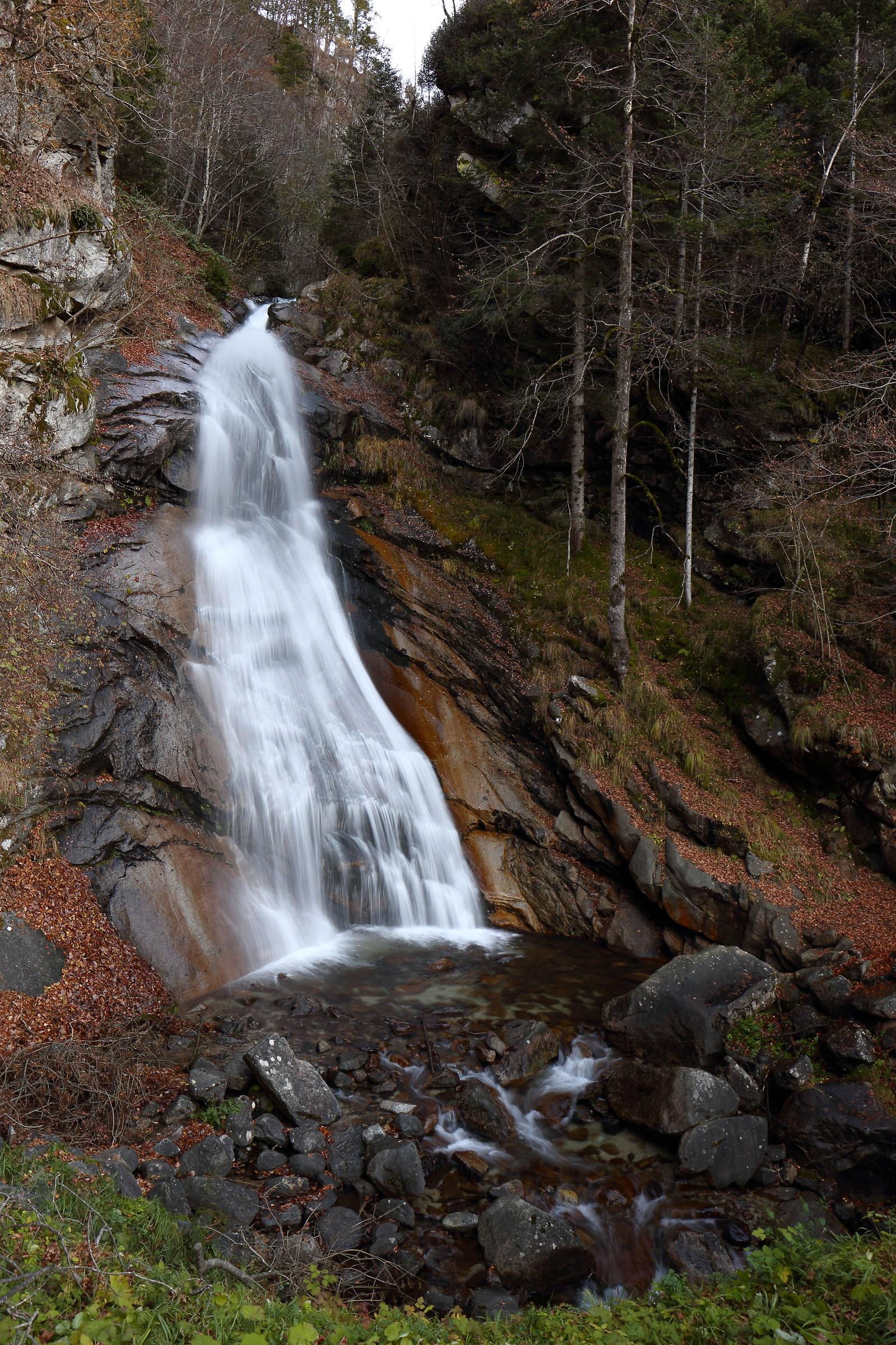 dela Brentana waterfall...