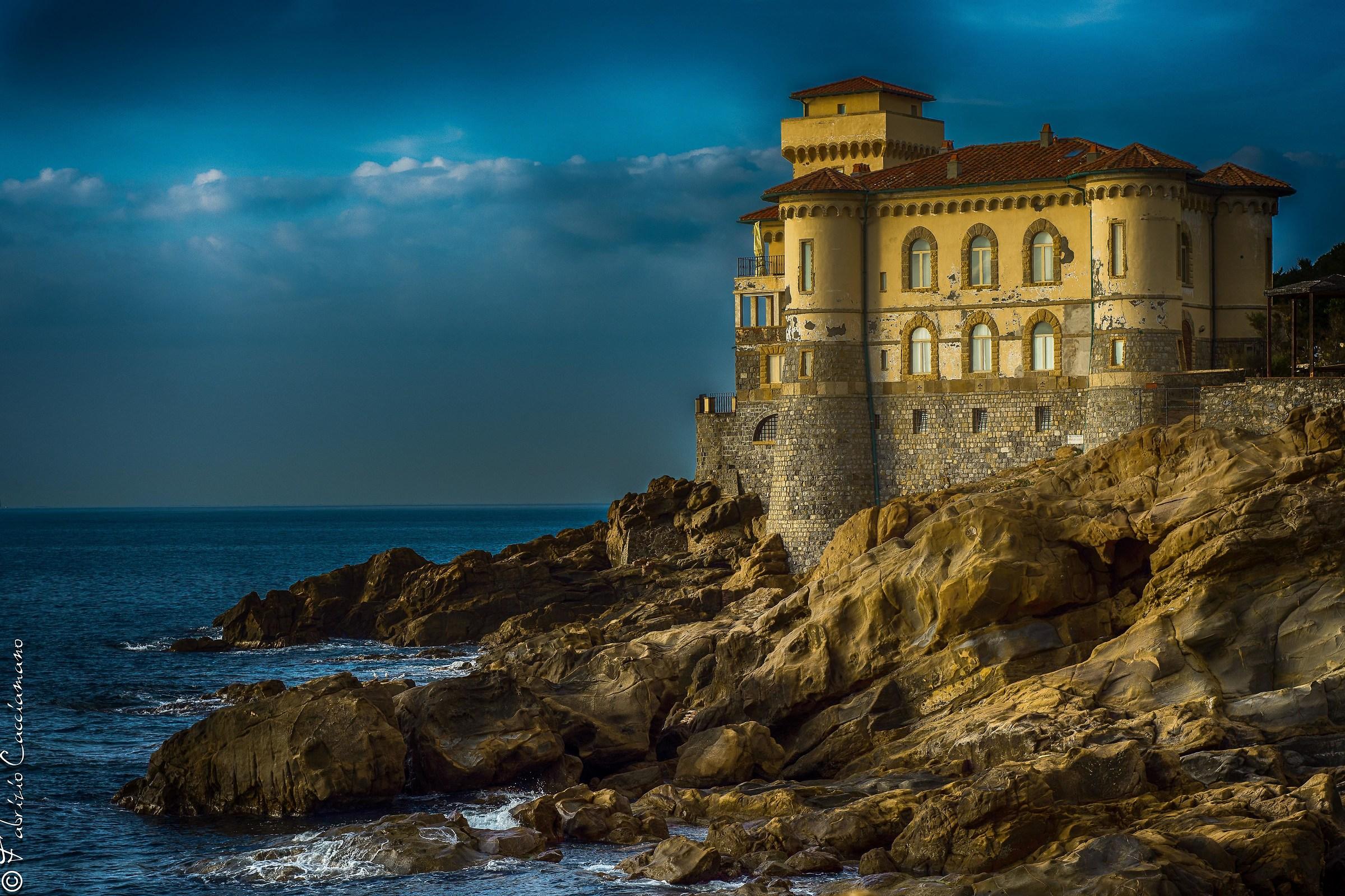 """il """"mio"""" castello del Boccale..."""